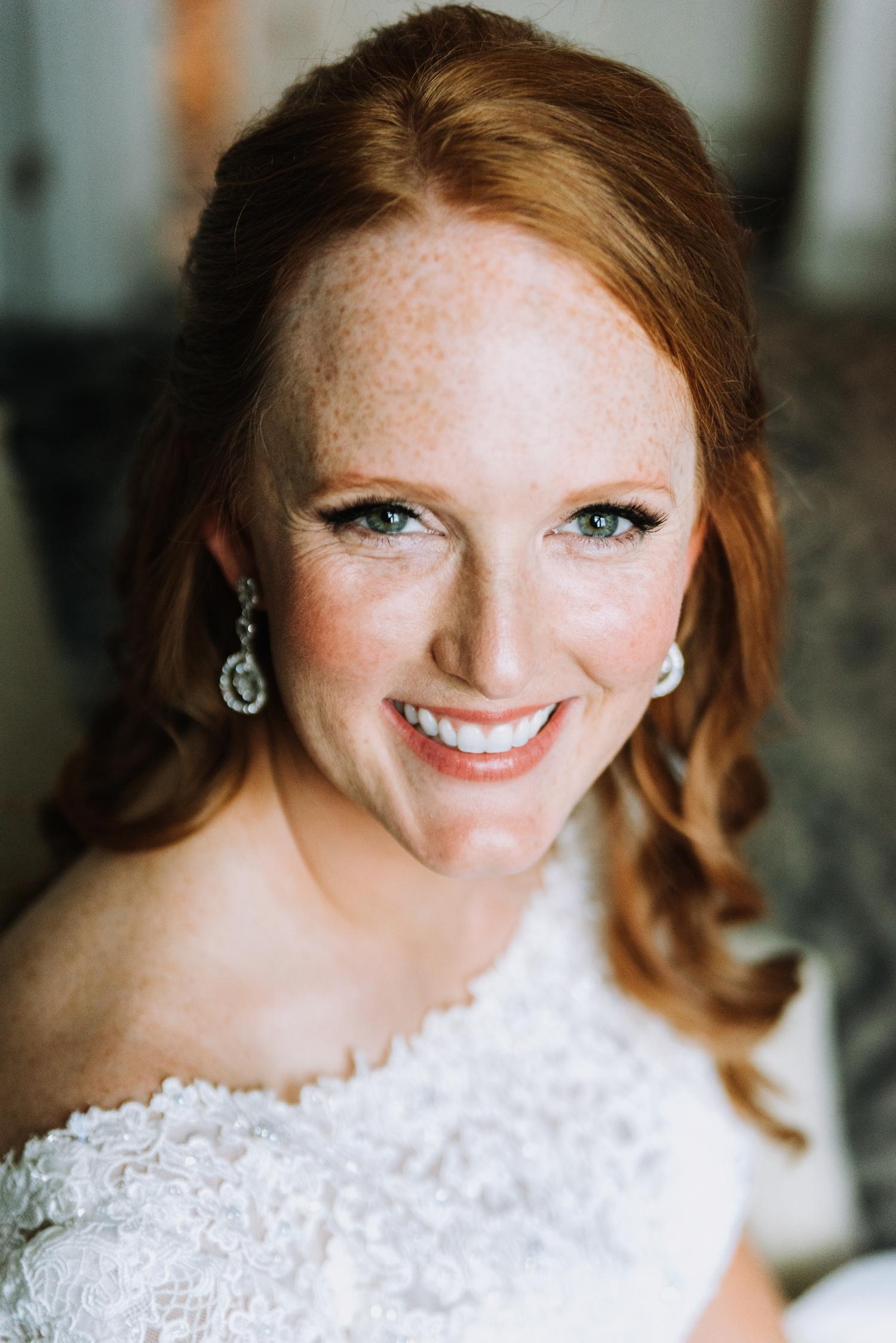 Gorgeous Bridal Makeup - Classic Indianapolis Wedding - Canal 337 Wedding - The Overwhelmed Bride Wedding Blog