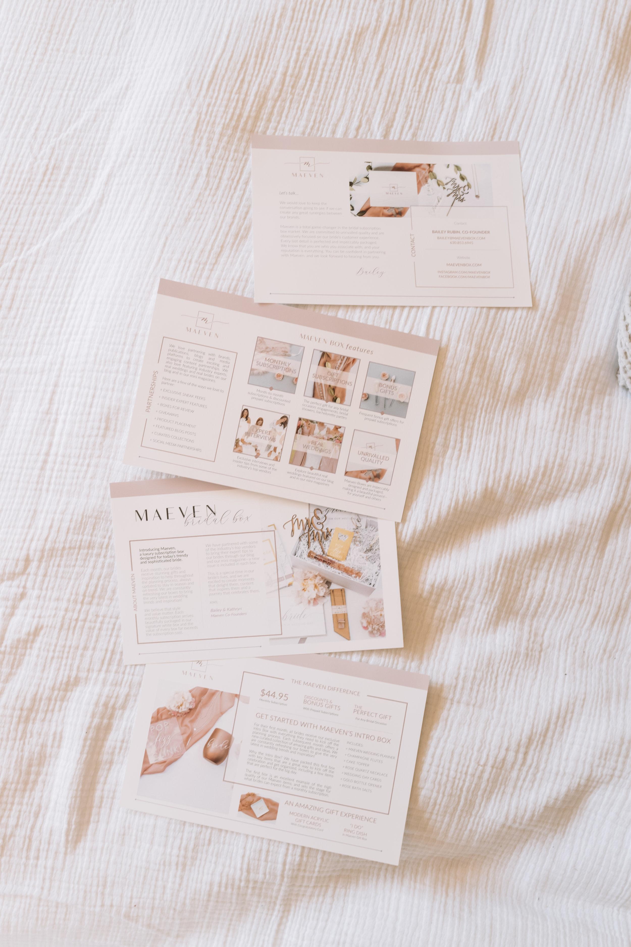 Best Bride Subscription Boxes -- Unique Bride To Be Engagement Gift Ideas -- Maeven Box