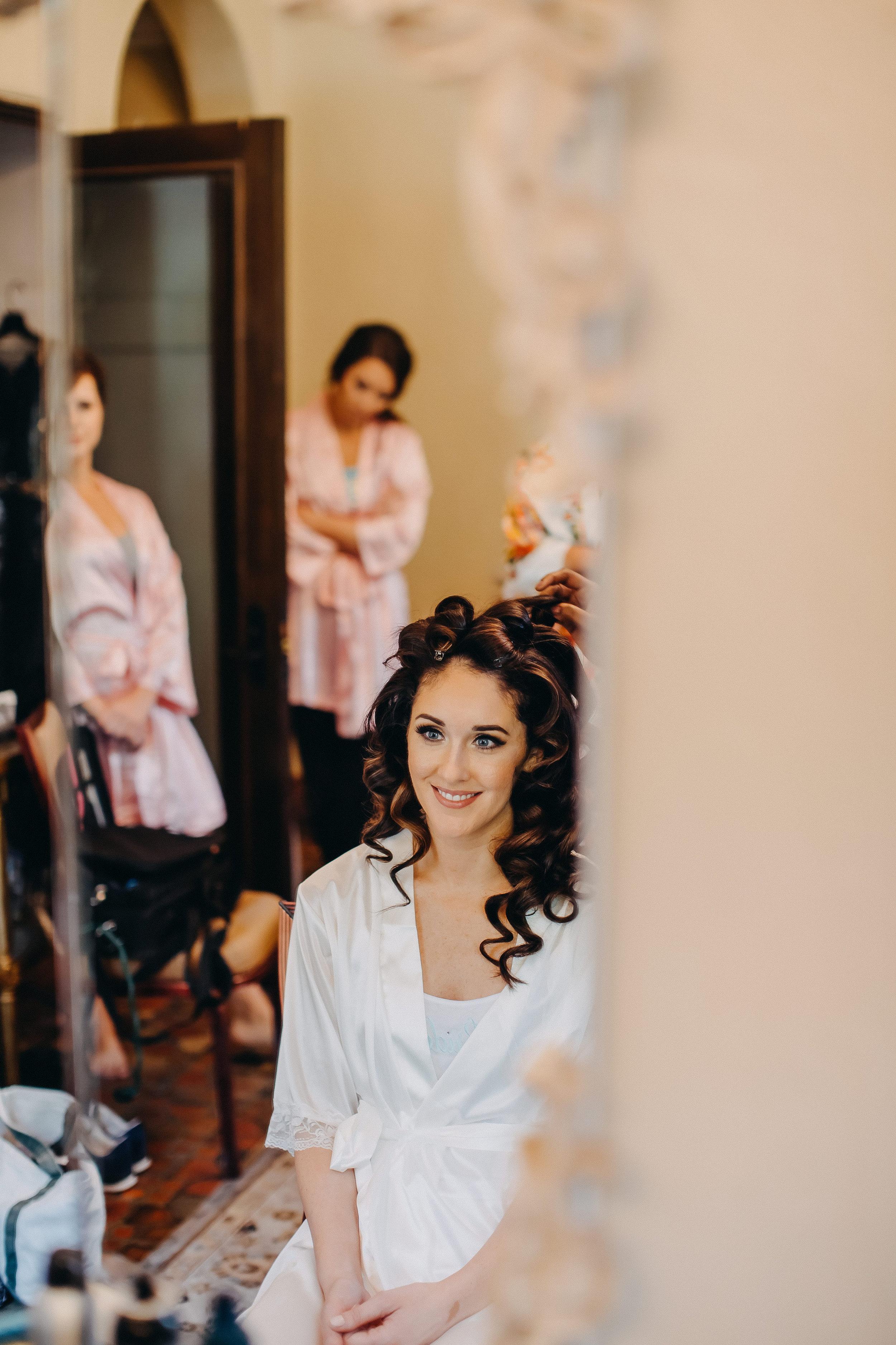 Bridal Hairstyles - Florida Estate Wedding - Powel Crowley Estate Wedding