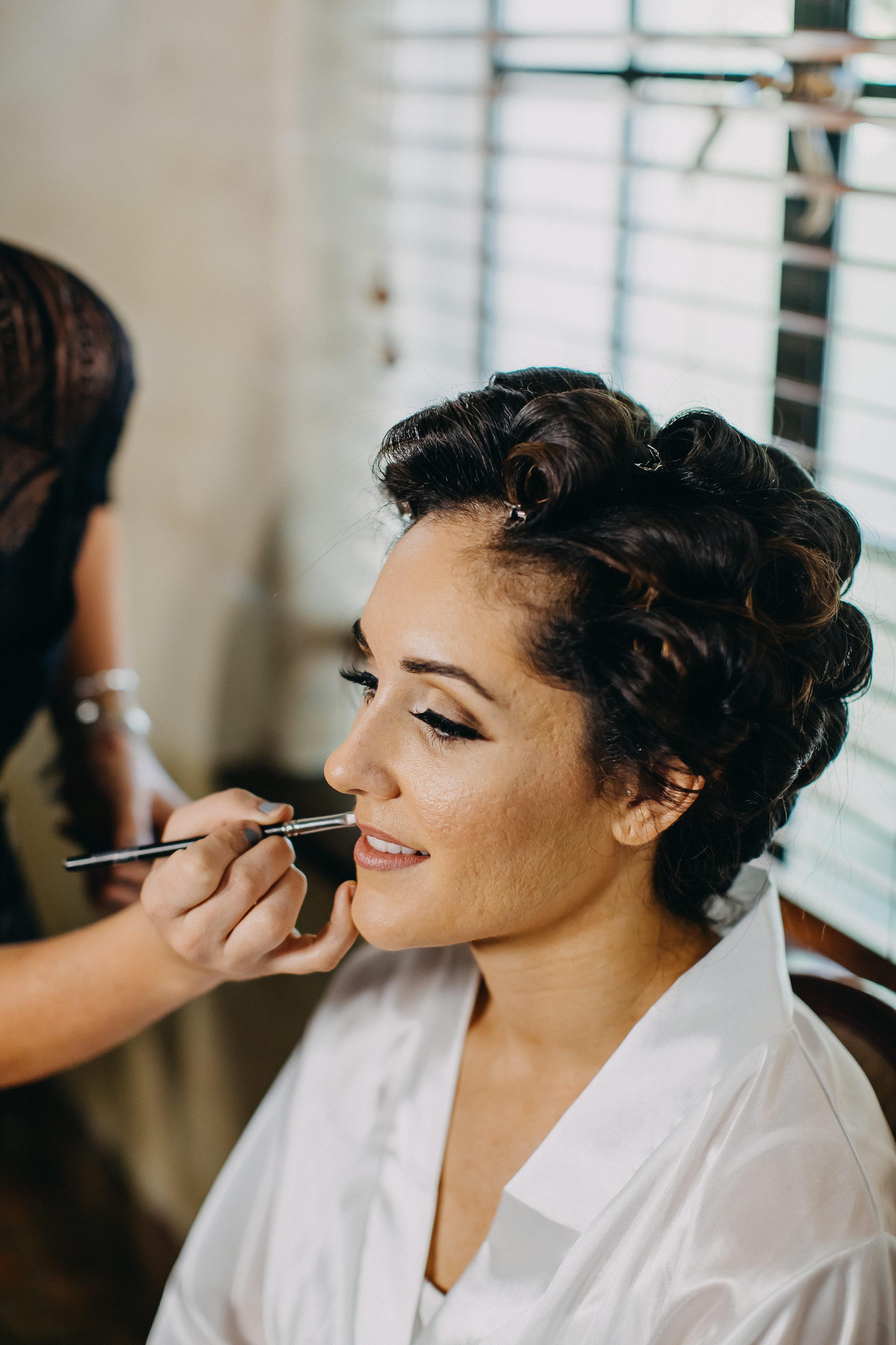 Bridal Makeup - Florida Estate Wedding - Powel Crowley Estate Wedding
