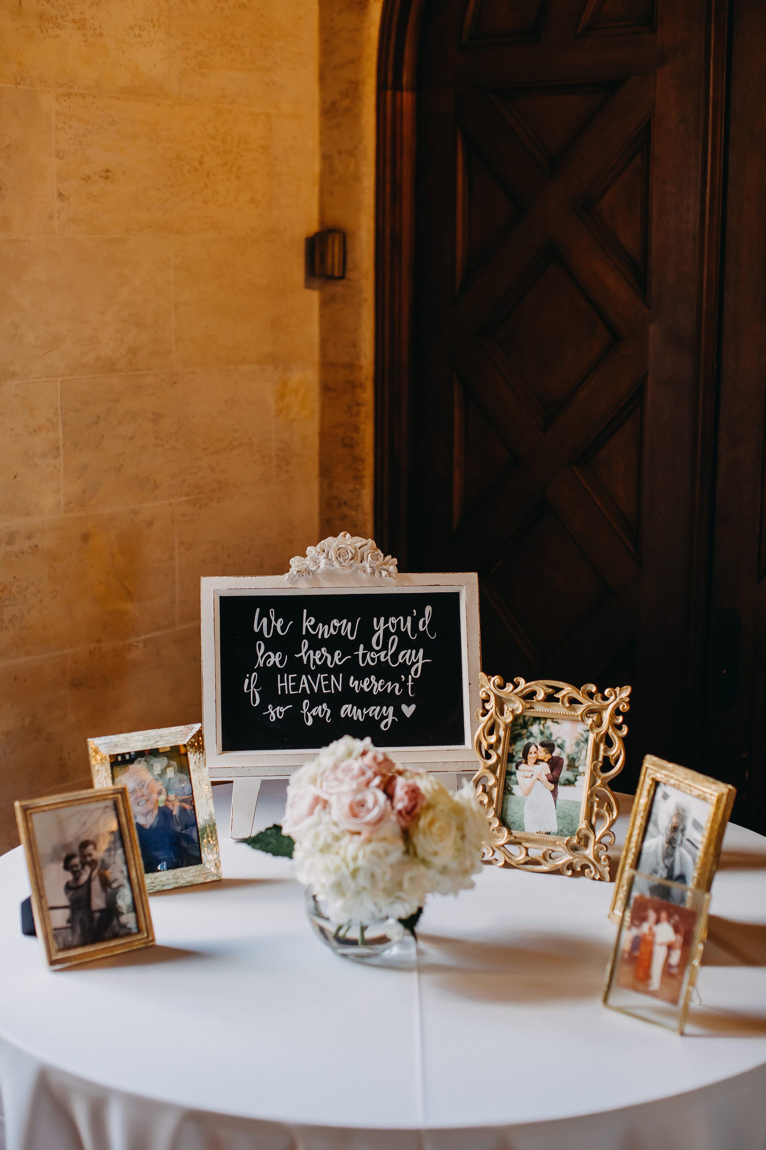 Chalkboard Wedding Signs - Florida Estate Wedding - Powel Crowley Estate Wedding