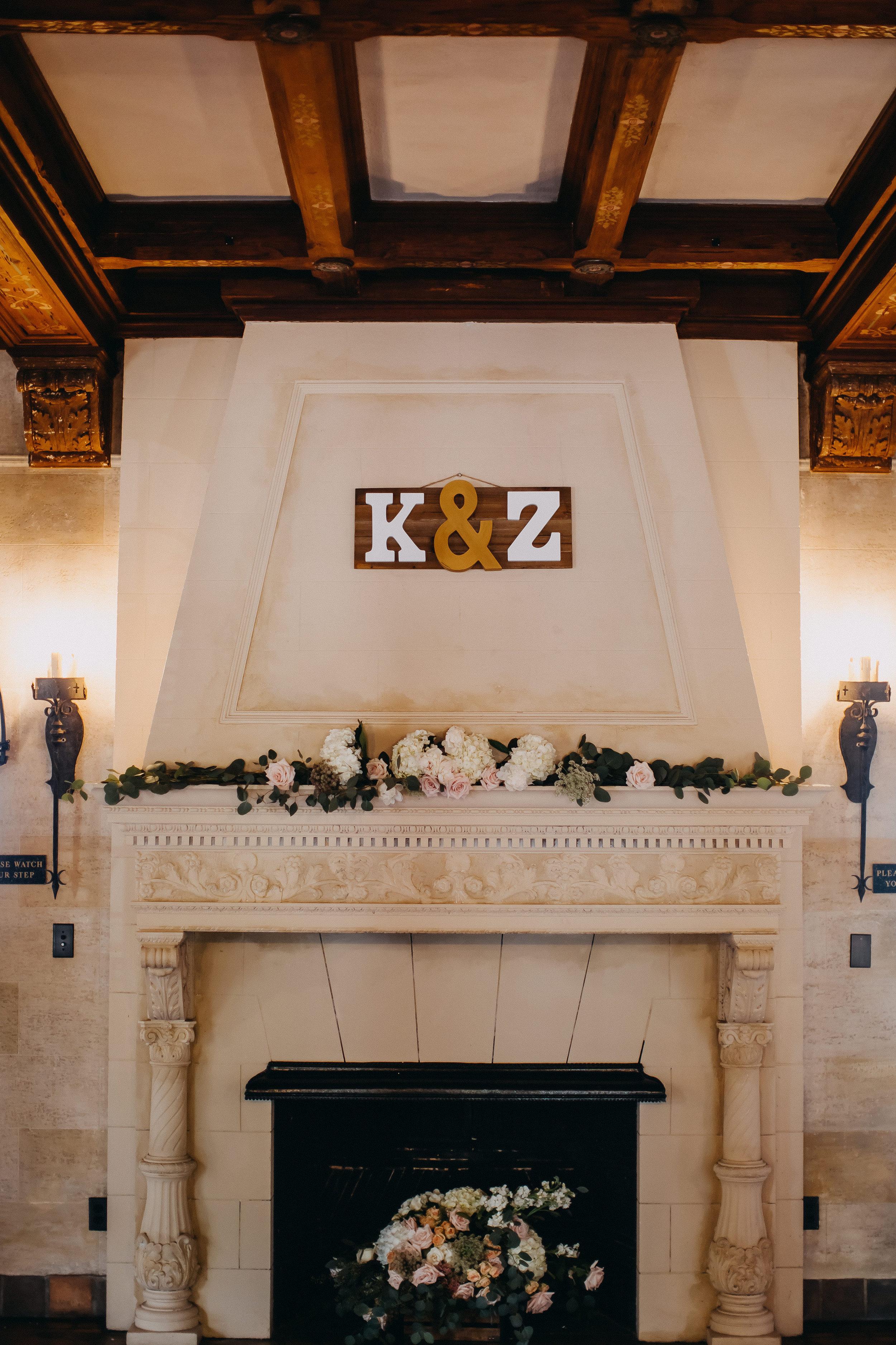 Estate Wedding Decor - Florida Estate Wedding - Powel Crowley Estate Wedding