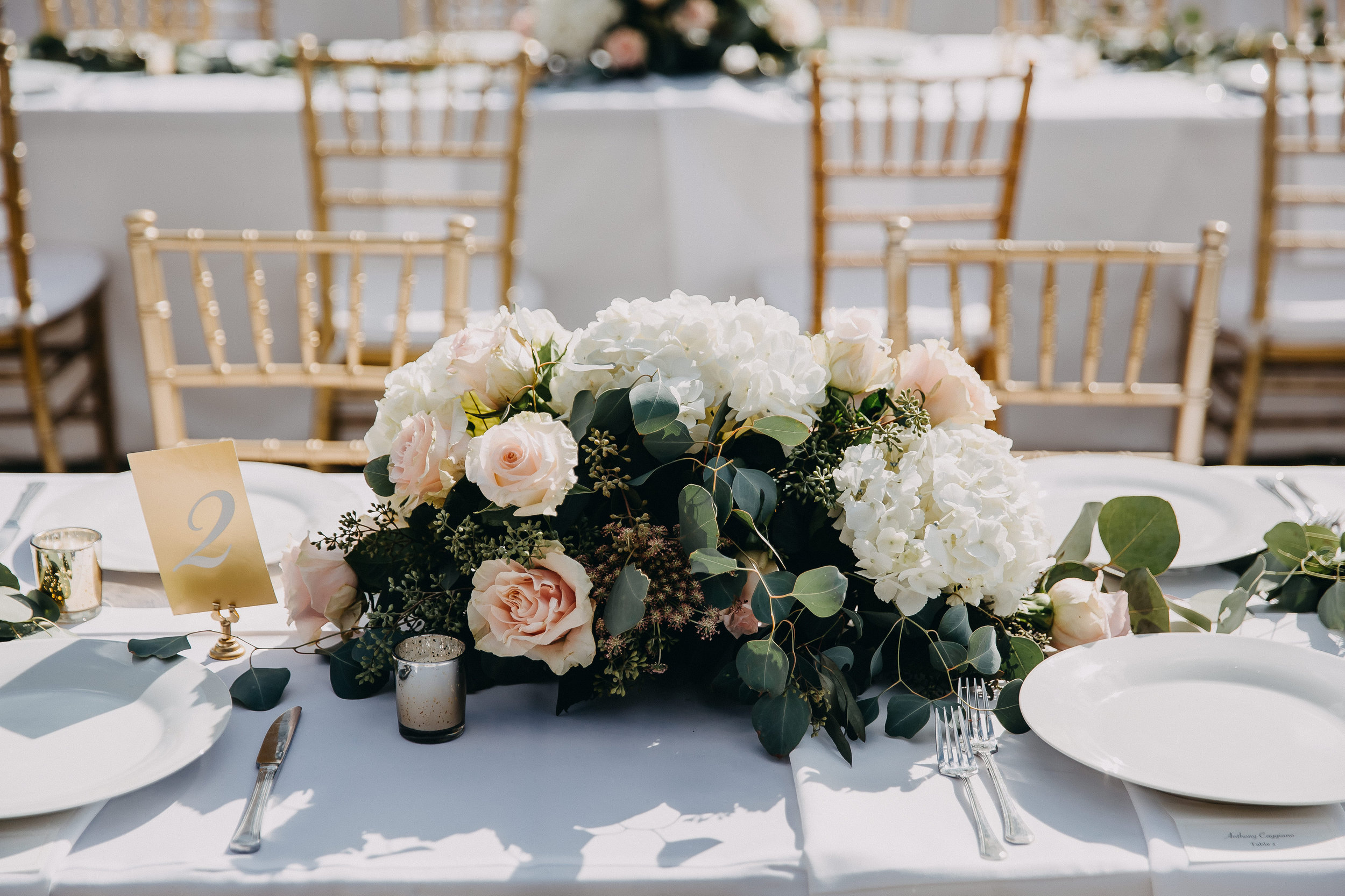 Gorgeous Wedding Centerpieces - Florida Estate Wedding - Powel Crowley Estate Wedding