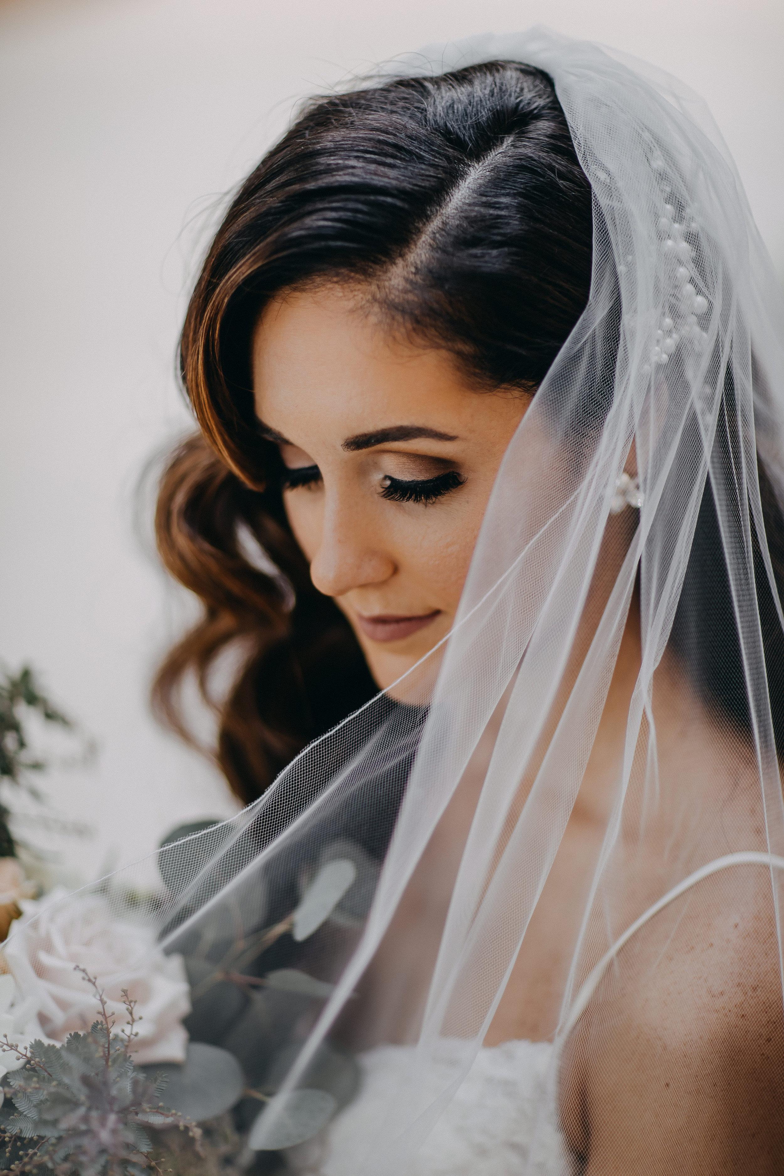 Gorgeous Bridal Wedding Photos - Florida Estate Wedding - Powel Crowley Estate Wedding