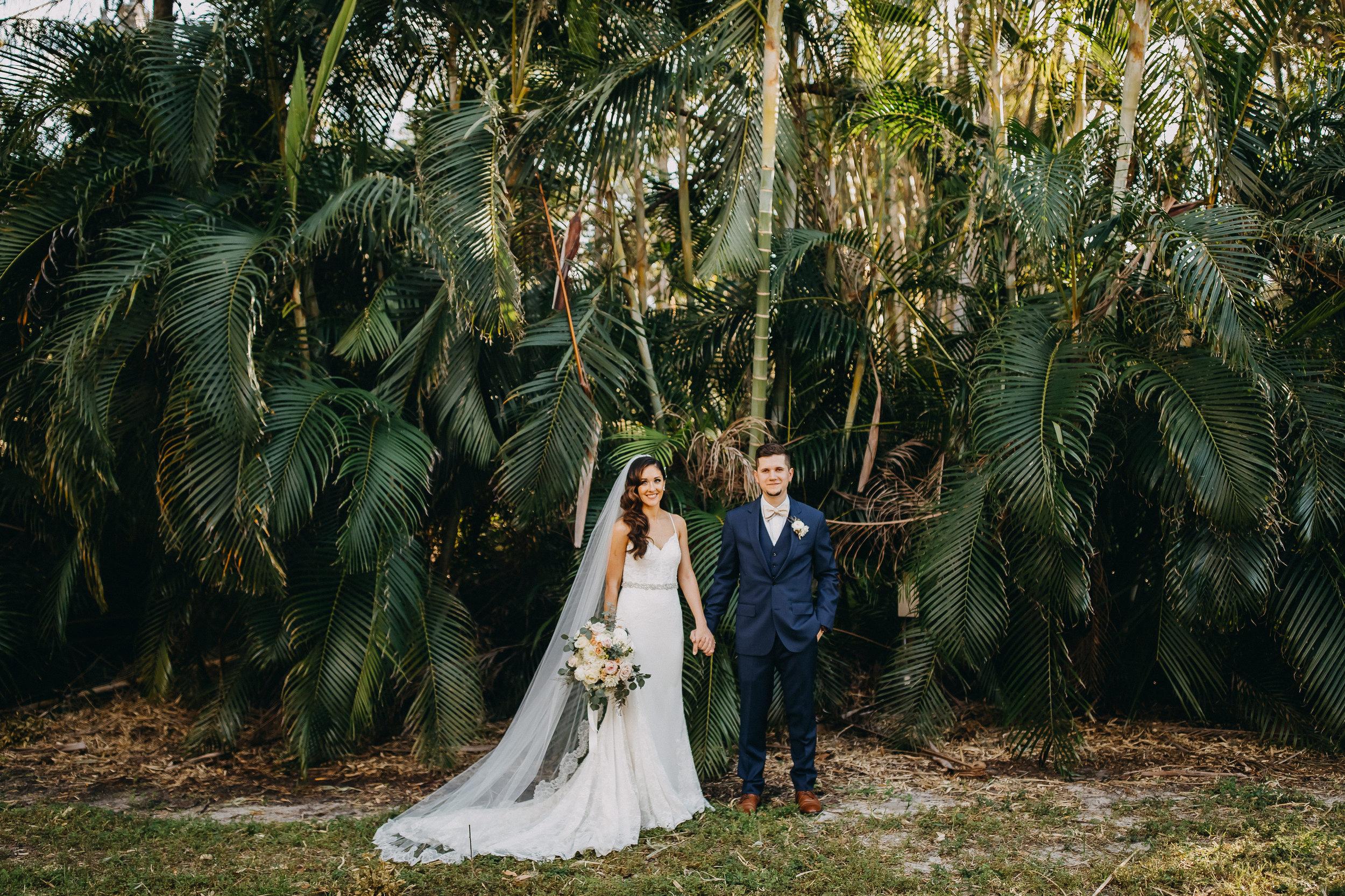Gorgeous Wedding Photos - Florida Estate Wedding - Powel Crowley Estate Wedding