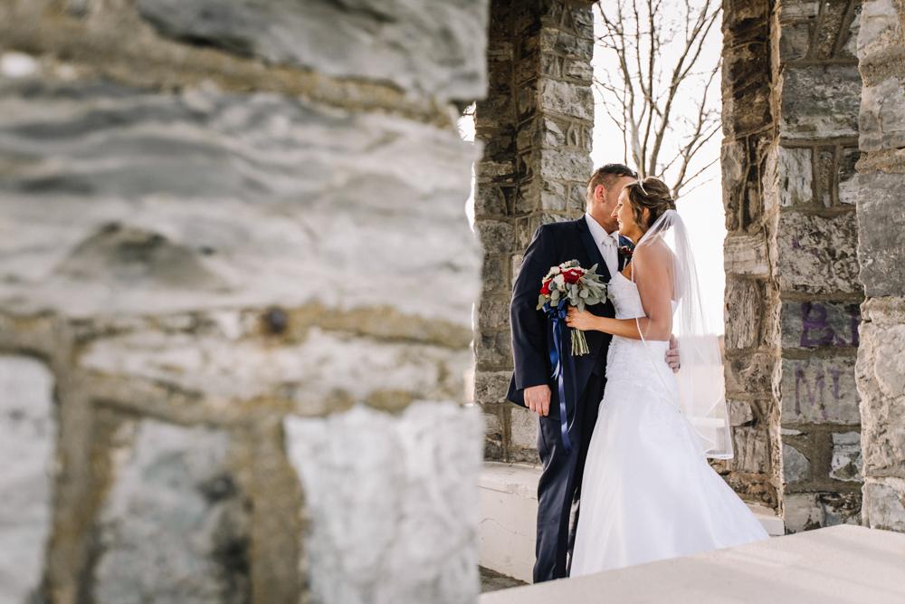 Gorgeous Bride and Groom Photos - Wedding Inspiration - Pennsylvania Fall Wedding - The Overwhelmed Bride Wedding Blog