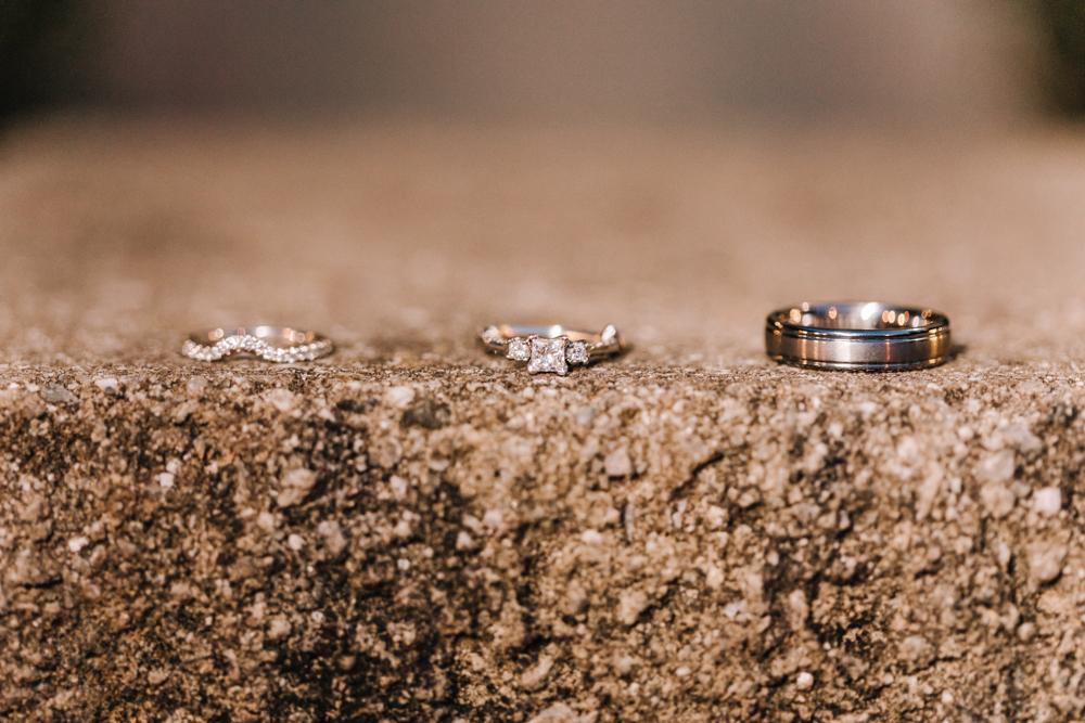 Gorgeous Wedding Ring Photos - Wedding Inspiration - Pennsylvania Fall Wedding - The Overwhelmed Bride Wedding Blog
