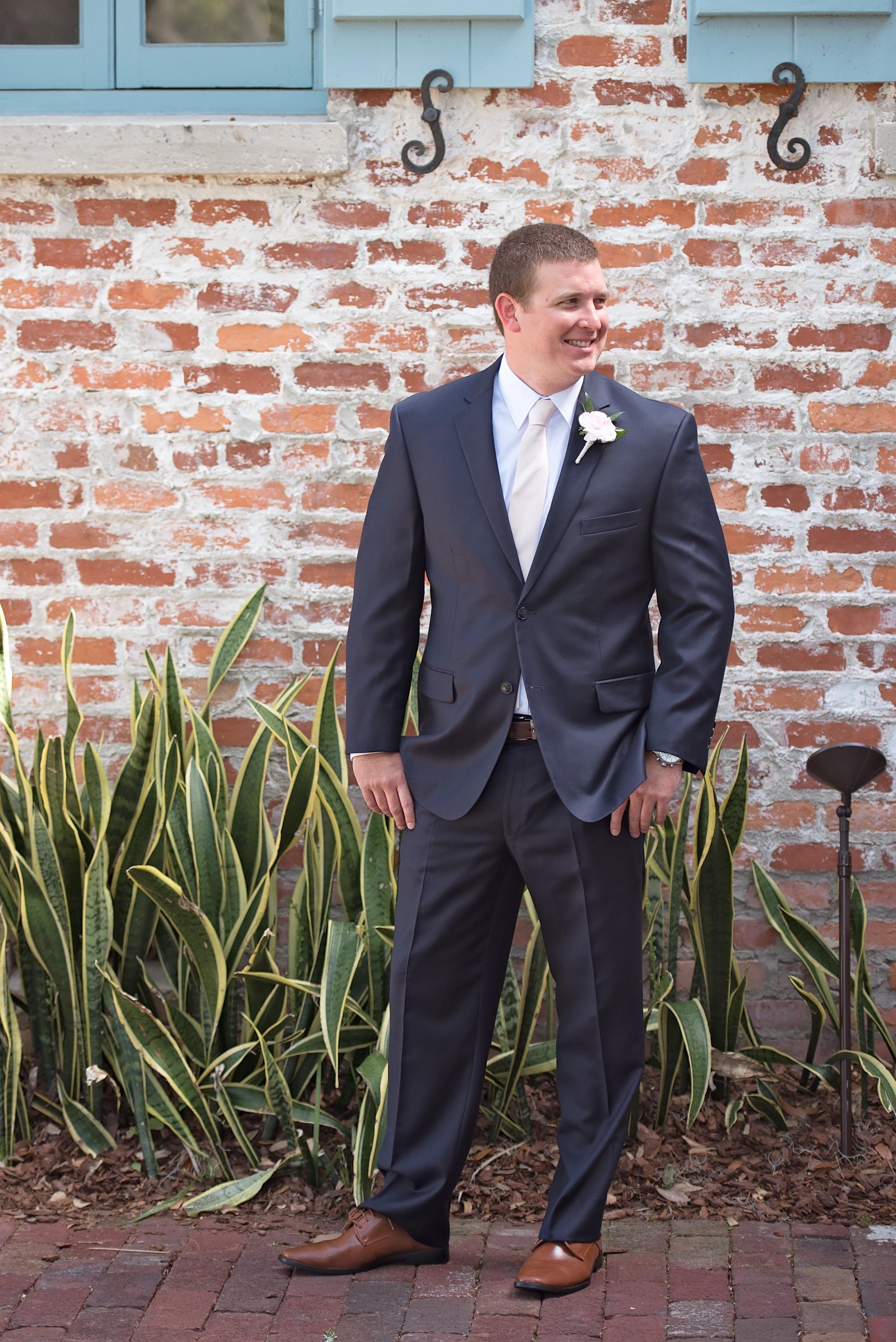 Groom Suits - Blush and White Wedding - Los Feliz Wedding