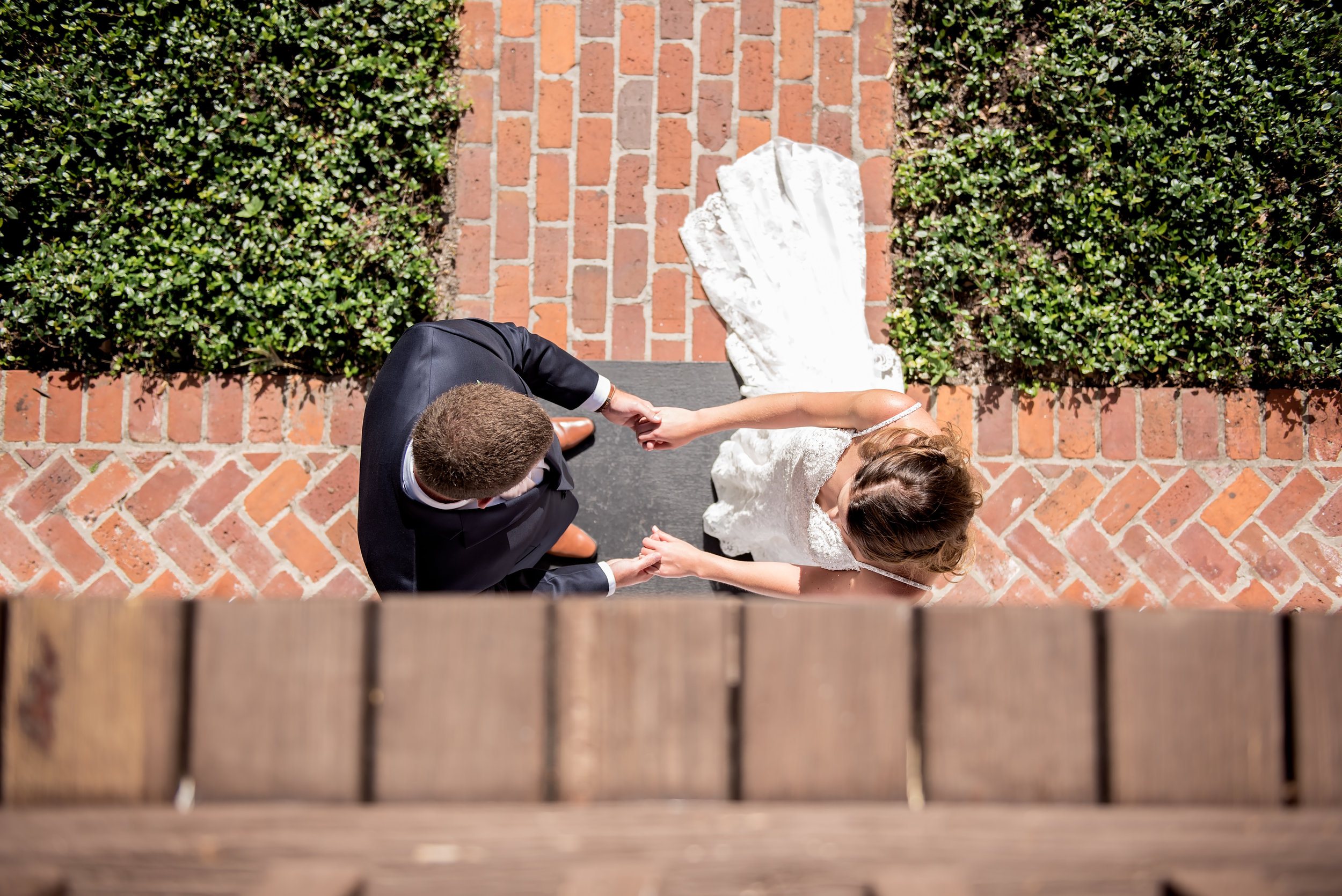 Unique Wedding Photos - Blush and White Wedding - Los Feliz Wedding