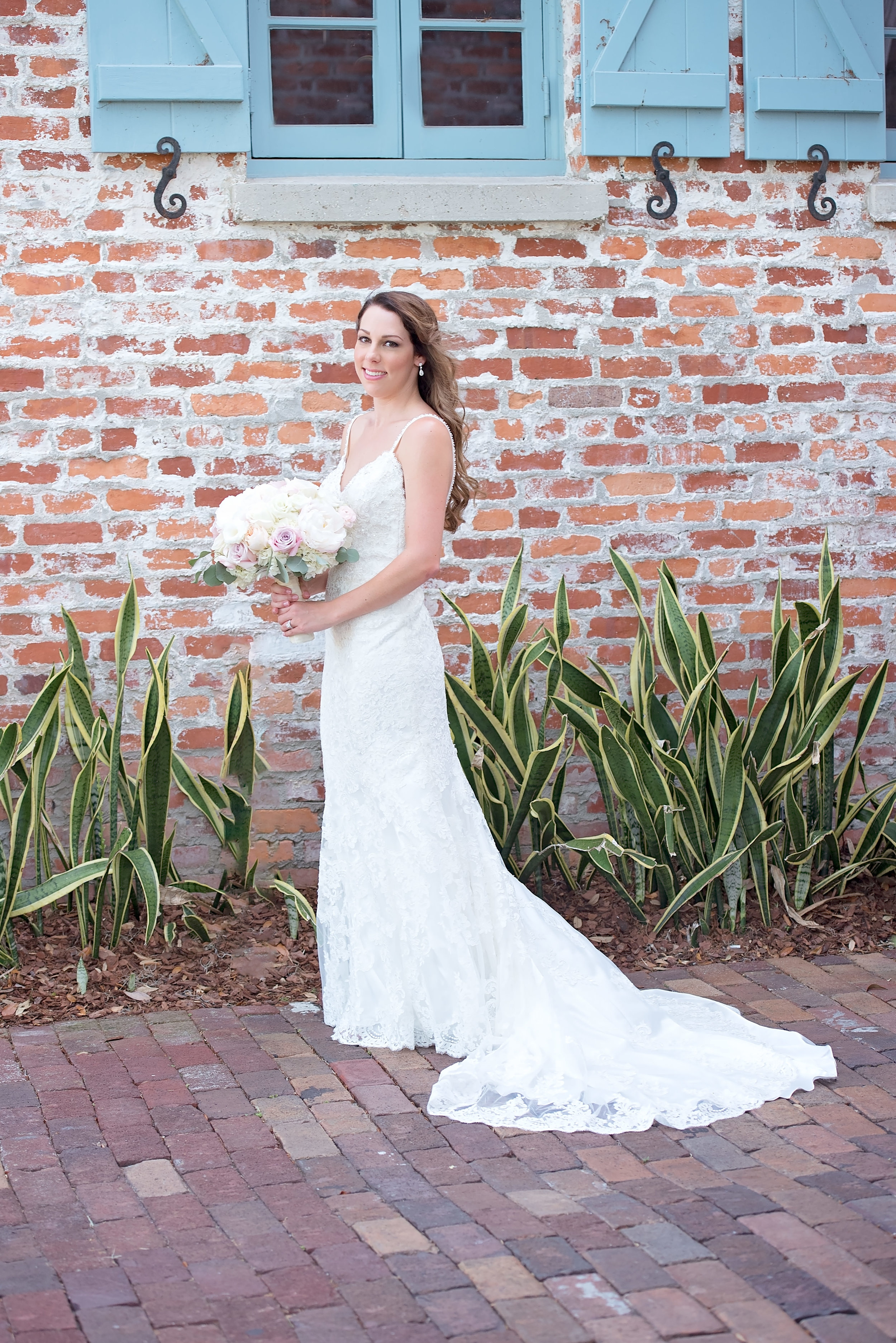 Blush and White Wedding Bouquet - Blush and White Wedding - Los Feliz Wedding
