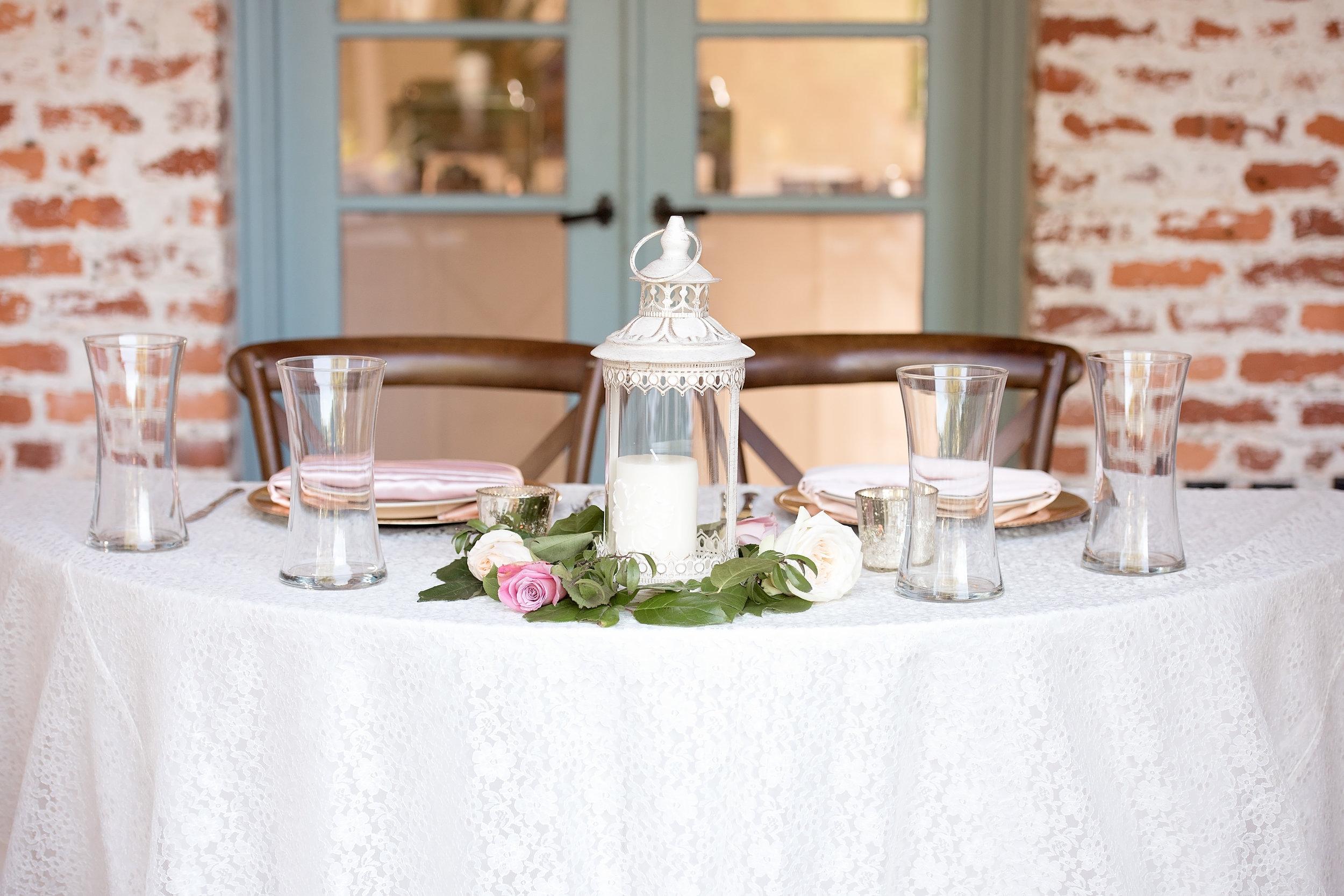 Sweetheart Table - Blush and White Wedding - Los Feliz Wedding
