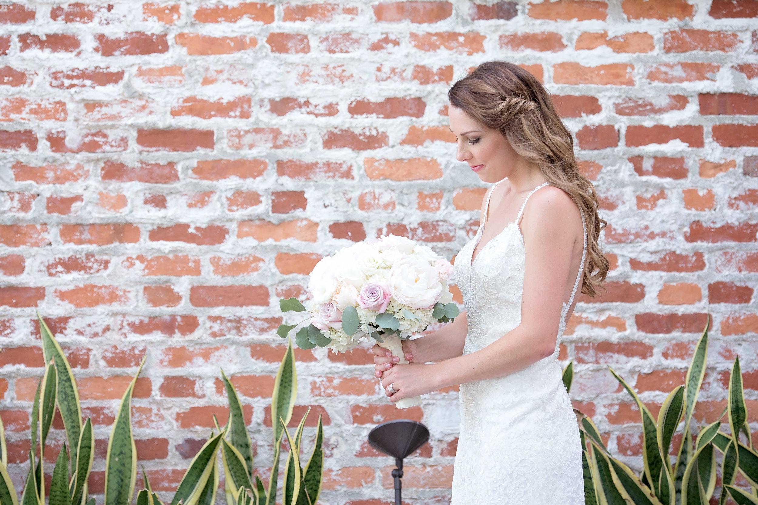 White Wedding Decor - Blush and White Wedding - Los Feliz Wedding