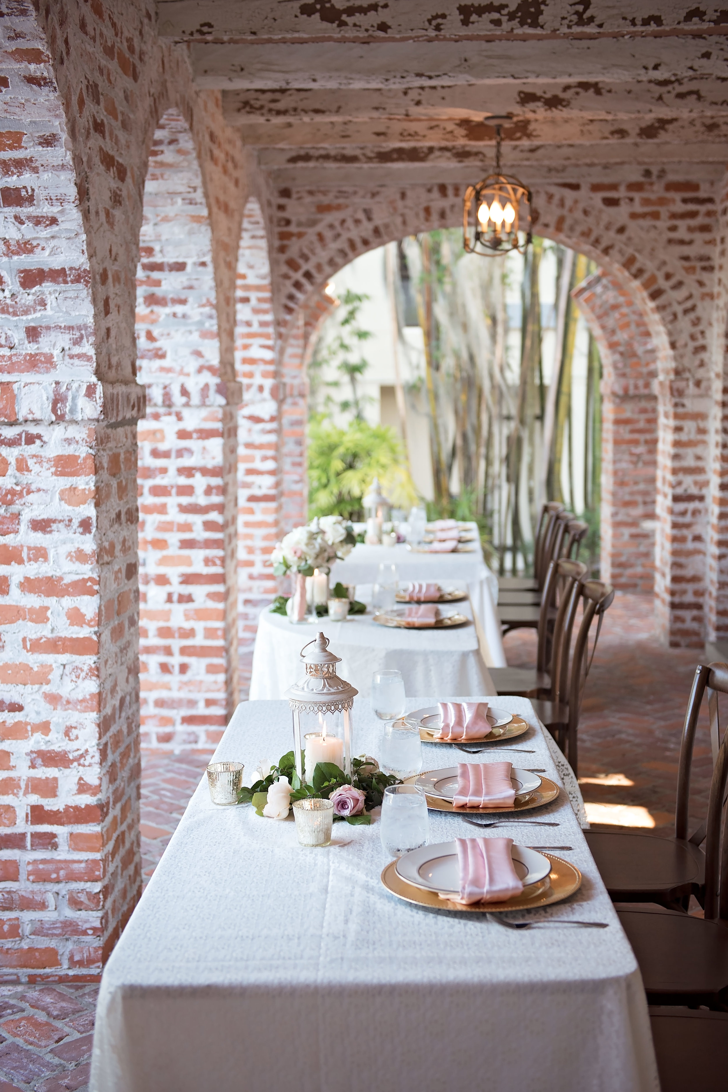 Gorgeous Blush and White Wedding - Los Feliz Wedding