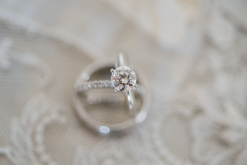 Solitaire Engagement Ring - Minimalist Wedding - Tampa Wedding Venue