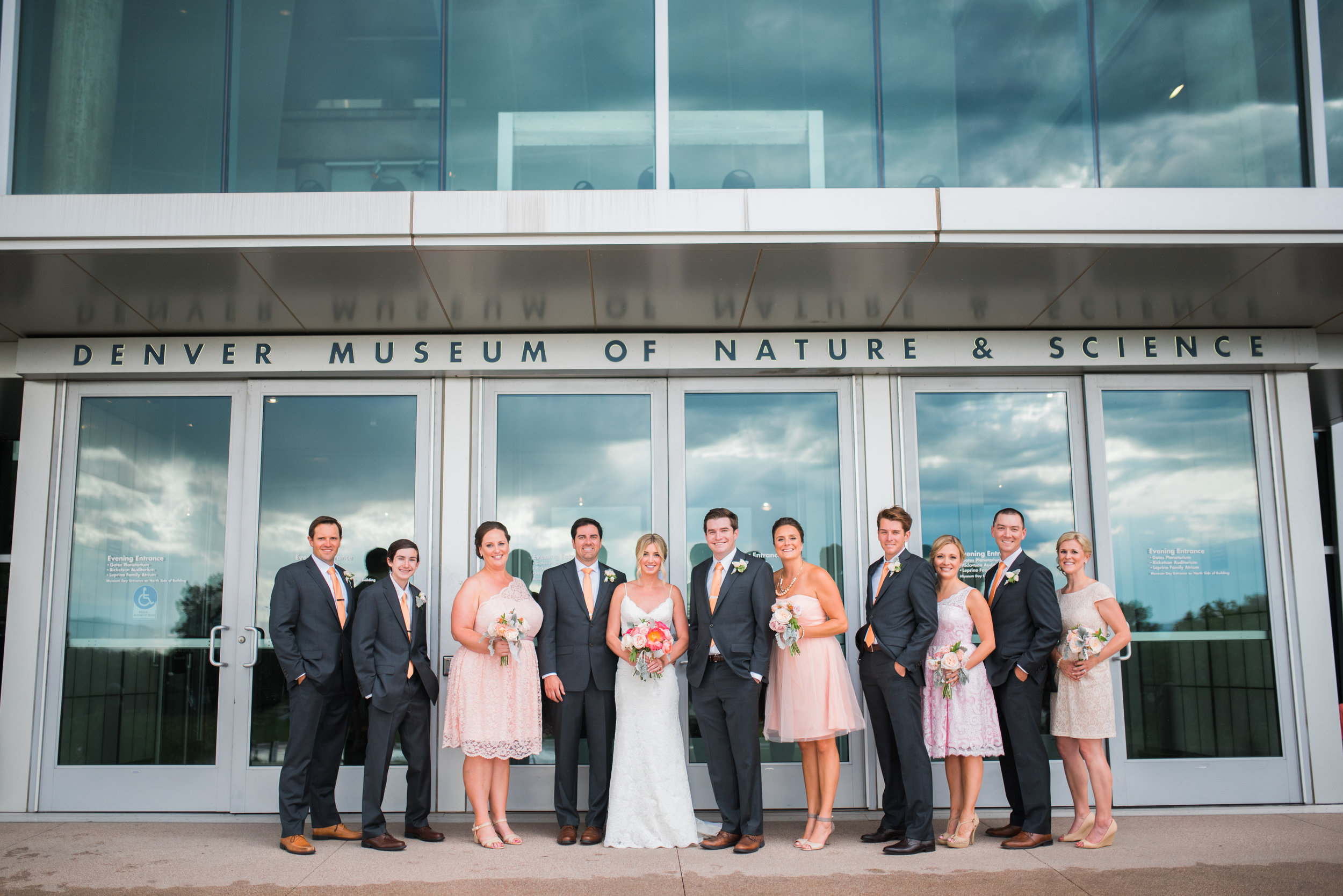 Denver Museum of Nature and Science Wedding - The Overwhelmed Bride Wedding Blog