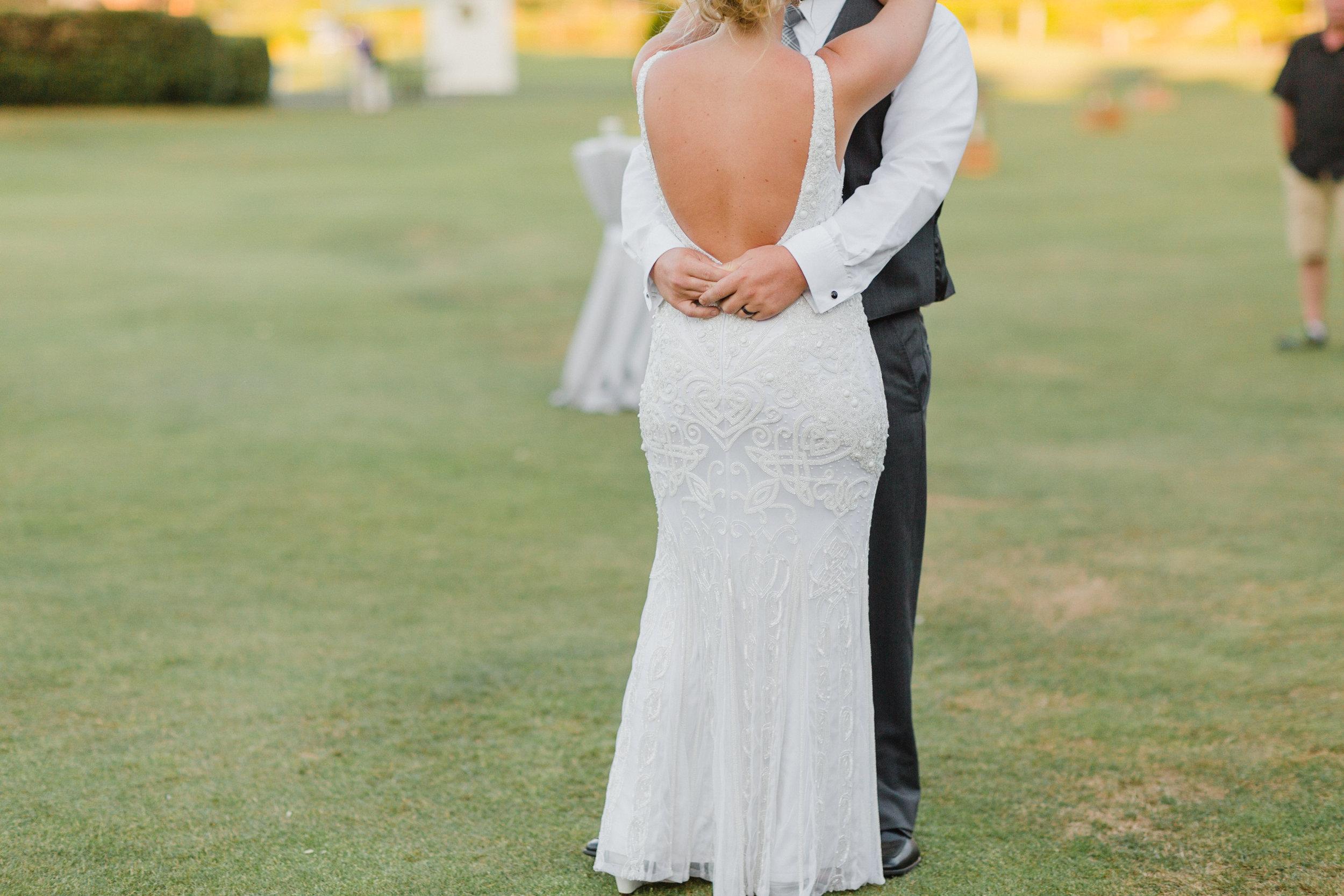Rustic Wedding Decor - Raspberry Ridge Golf Course Wedding — The Overwhelmed Bride Wedding Blog