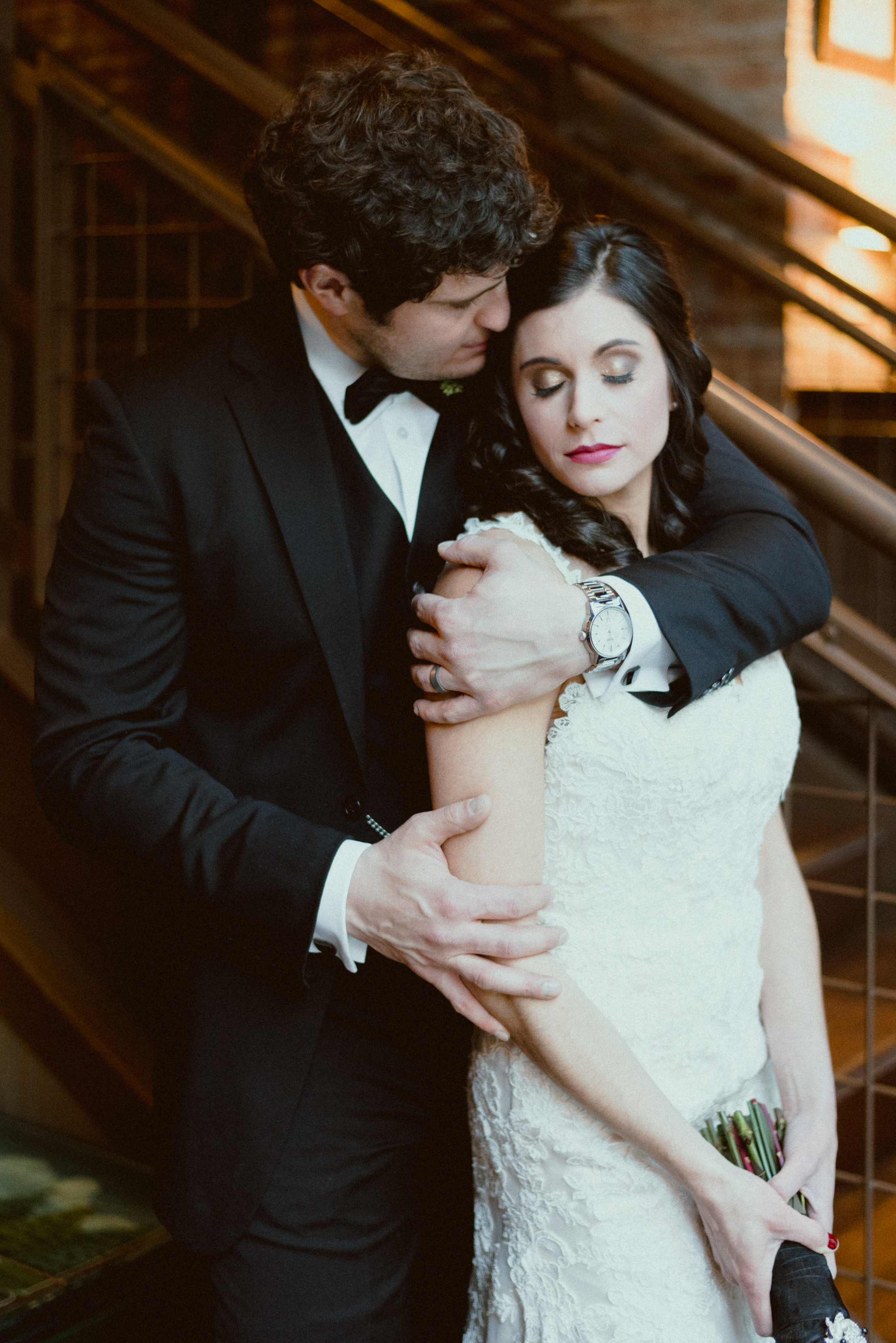 Black and Gold New Year's Eve Wedding - The Overwhelmed Bride Wedding Blog