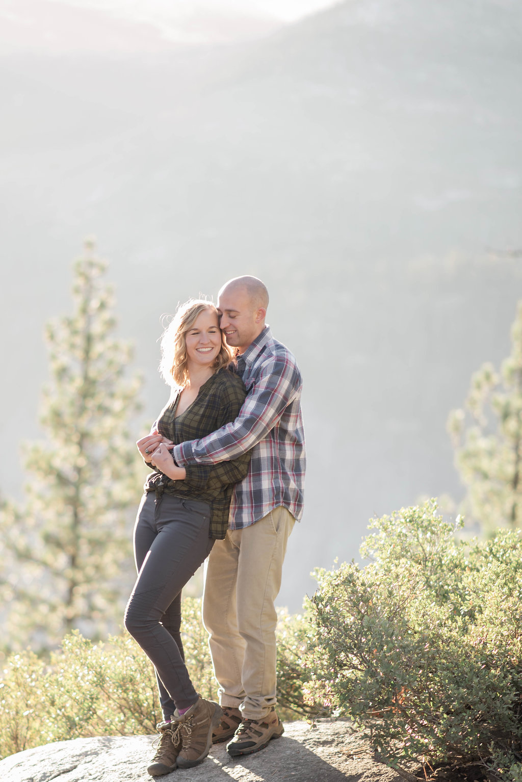 Yosemite Engagement Photos — The Overwhelmed Bride Wedding Blog