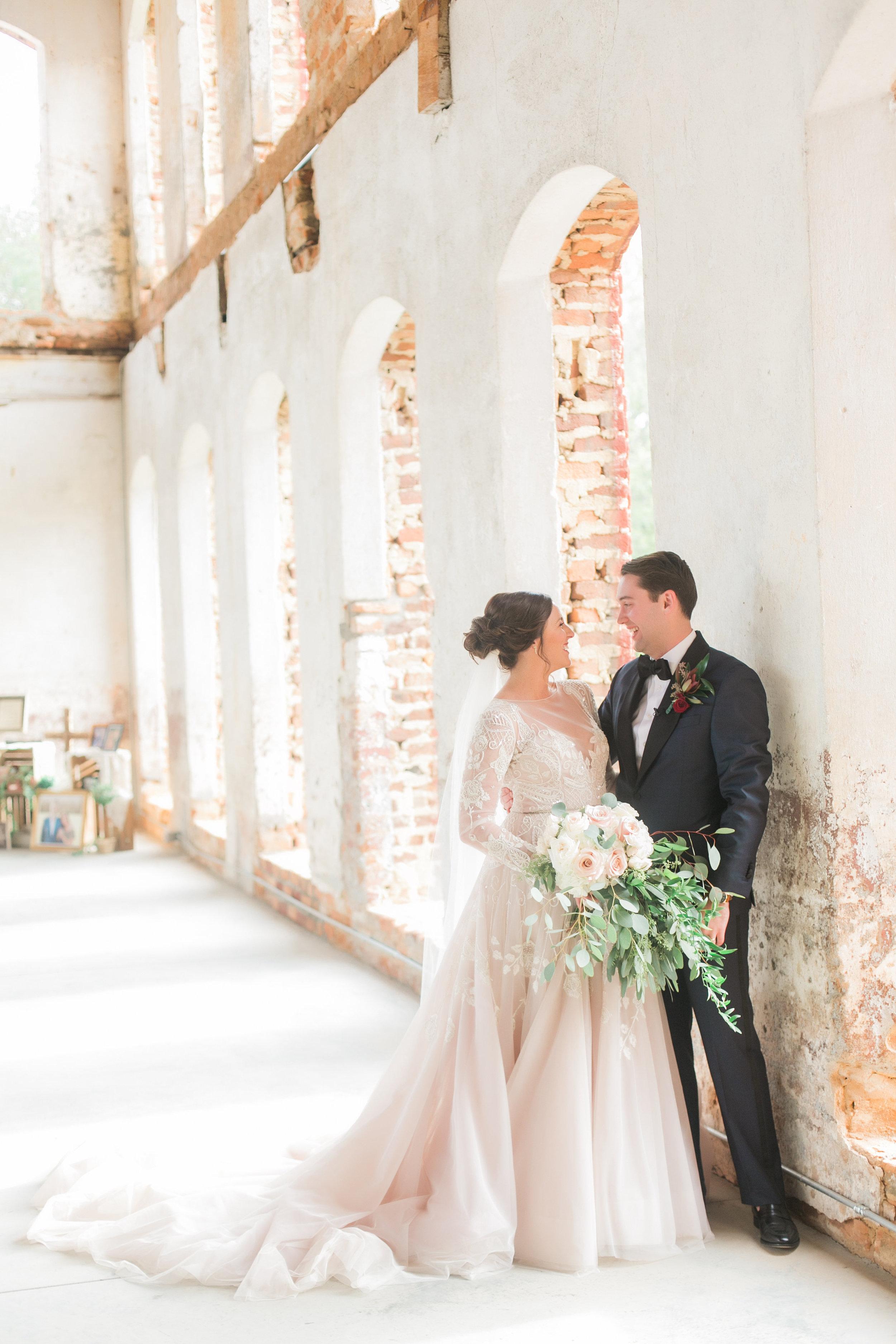 North Carolina Providence Cotton Mill Wedding — Vintage Wedding Decor Details - The Overwhelmed Bride Wedding Blog