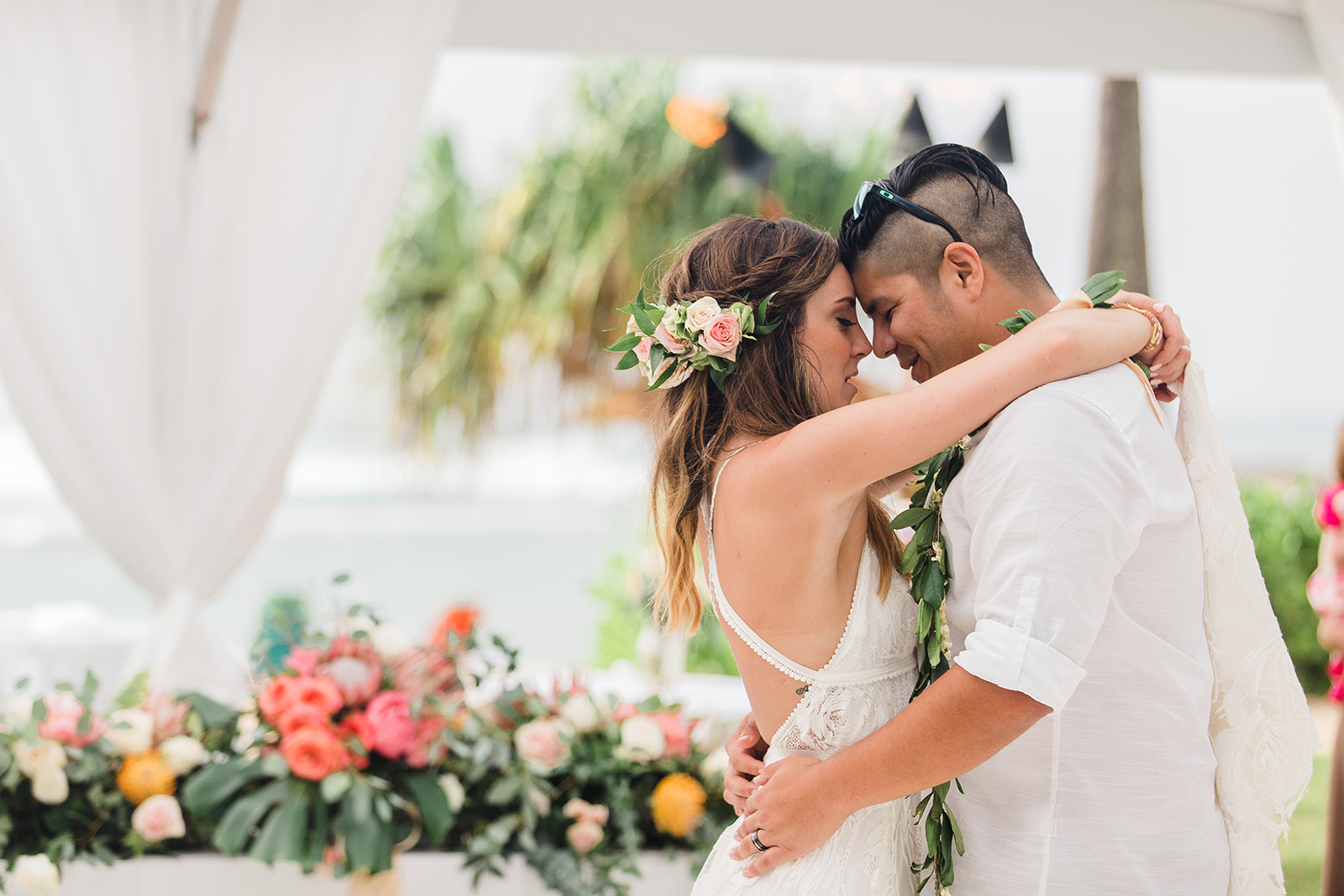 A Turtle Bay Resort Oahu Beach Wedding - The Overwhelmed Bride Wedding Blog