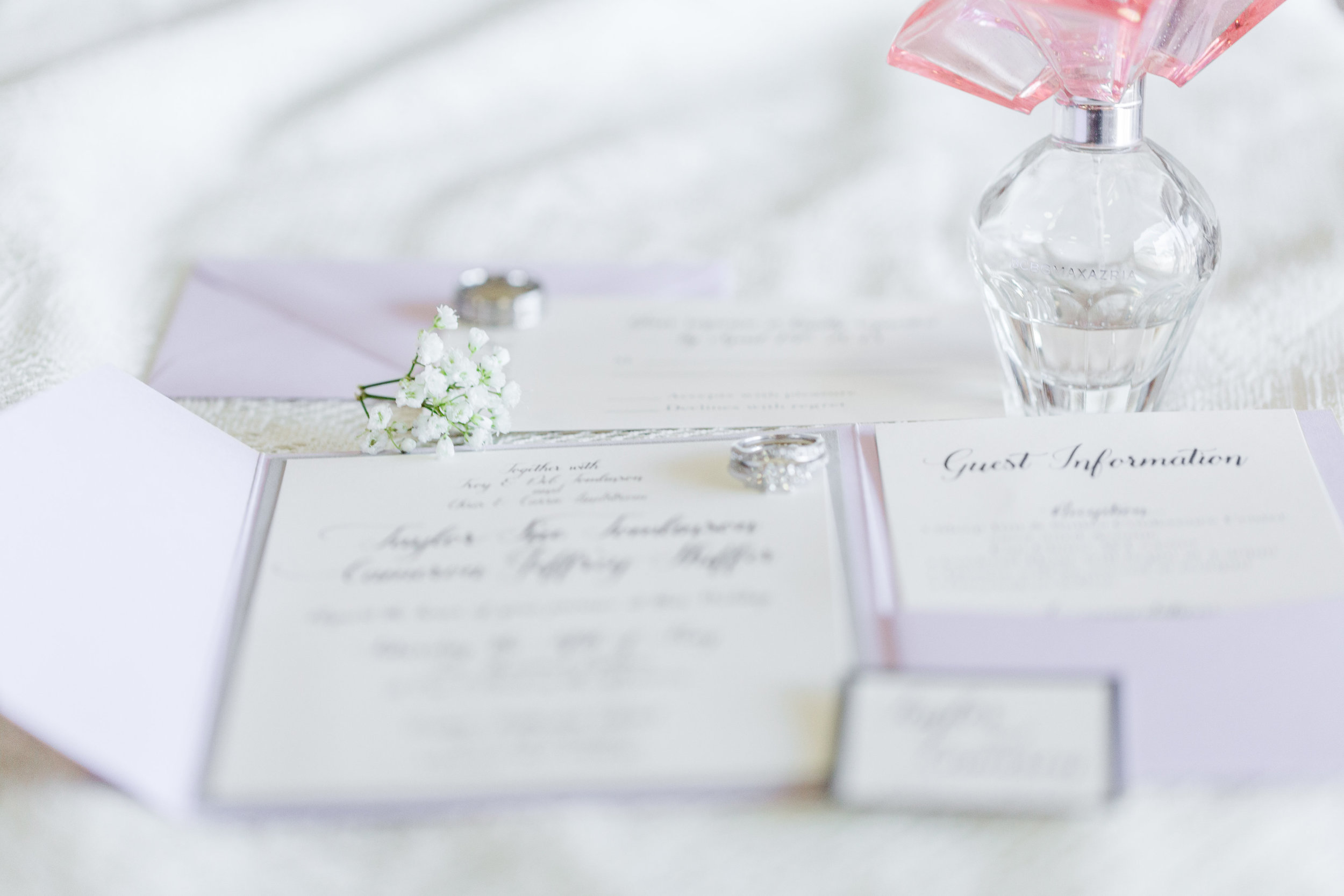 A White + Lilac Romantic Wisconsin Wedding - The Overwhelmed Bride Wedding Blog