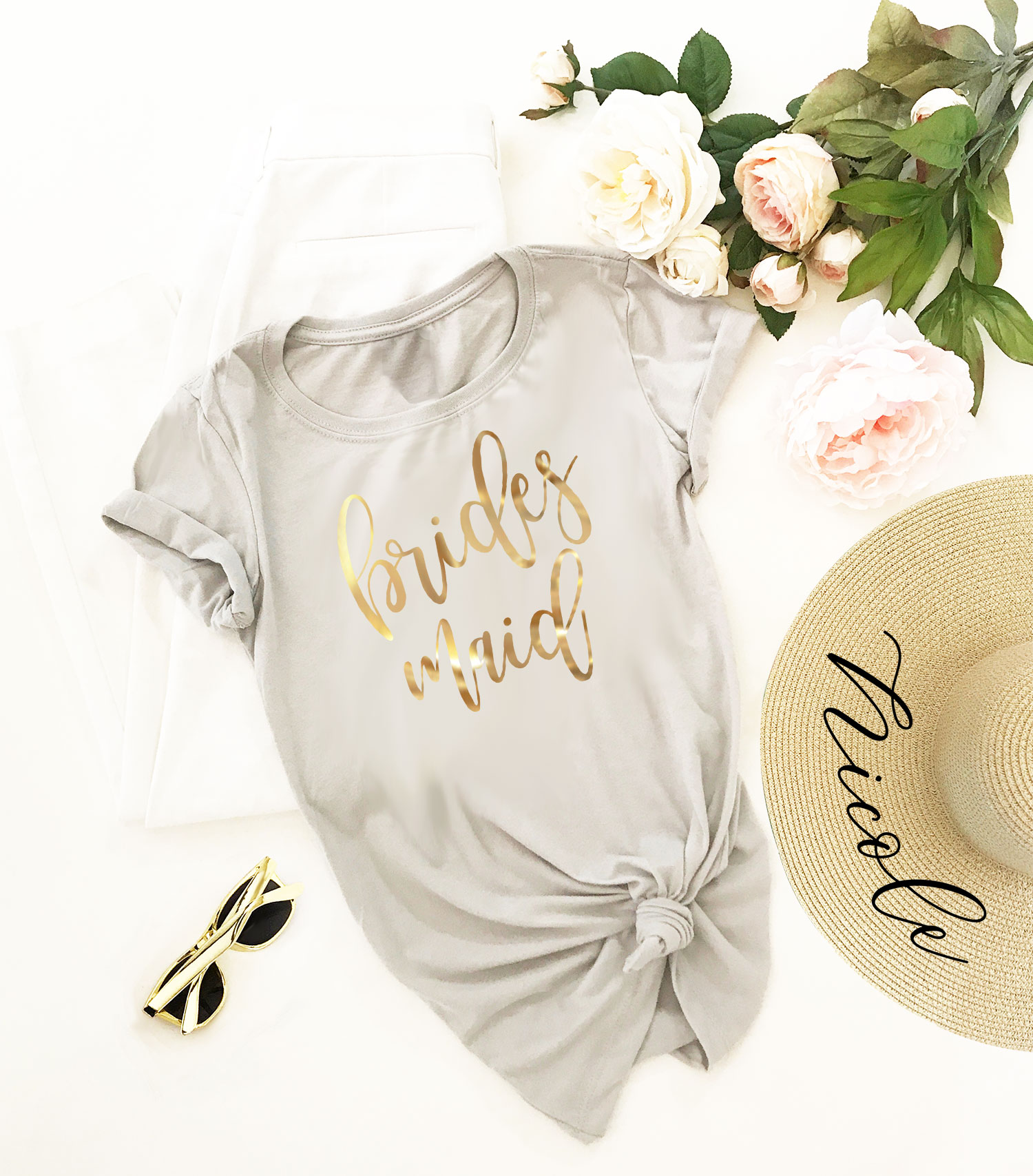Cute Unique Bridesmaid Gift Ideas -- The Overwhelmed Bride Wedding Blog