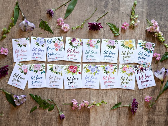 Unique Wedding Favors - The Overwhelmed Bride Wedding Blog