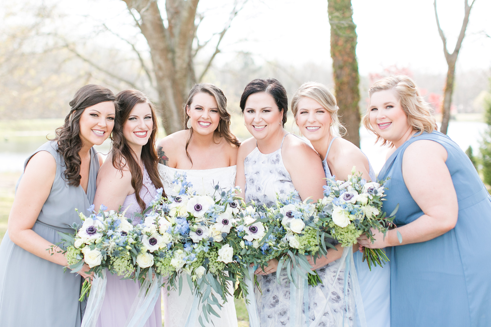 A Garden Georgia Wedding - The Venue at Tryphena's Garden - The Overwhelmed Bride Wedding Blog