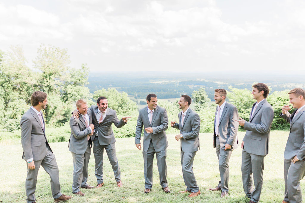 A Rustic Virginia Barn Wedding - Stable at Bluemont Vineyards Wedding - The Overwhelmed Bride Wedding Blog