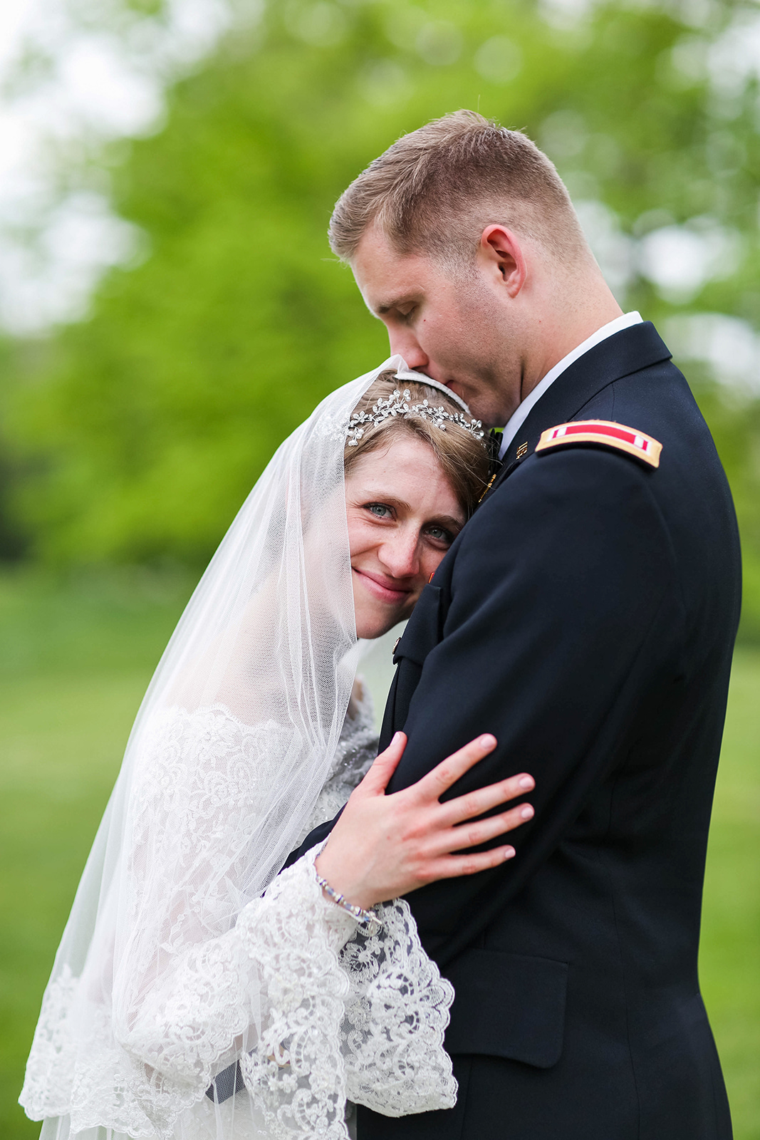 A Classic Indianapolis Military Wedding - Cathedral Wedding - The Overwhelmed Bride Wedding Blog