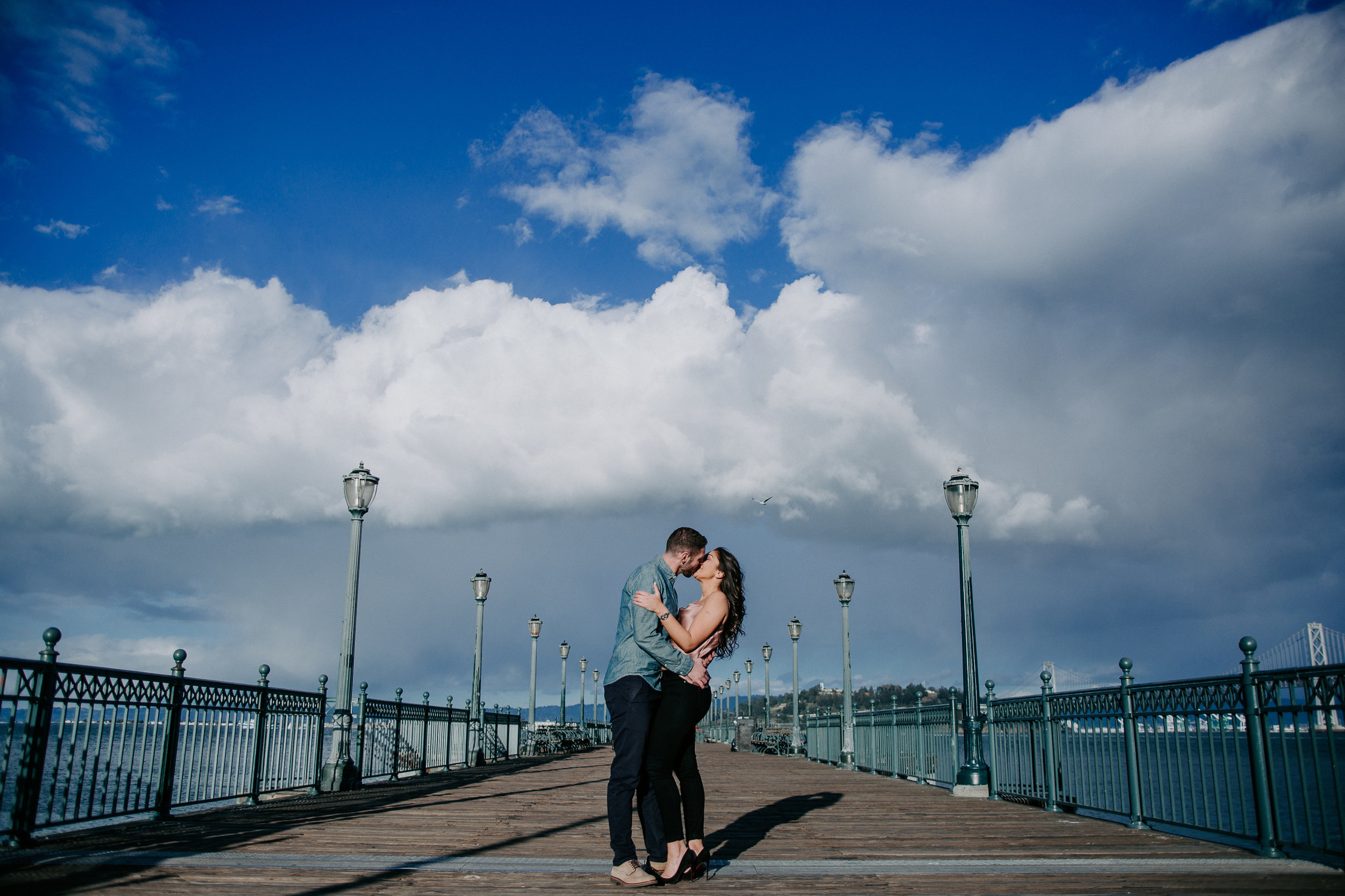 Baker Beach San Francisco Engagement Photos - The Overwhelmed Bride Wedding Blog