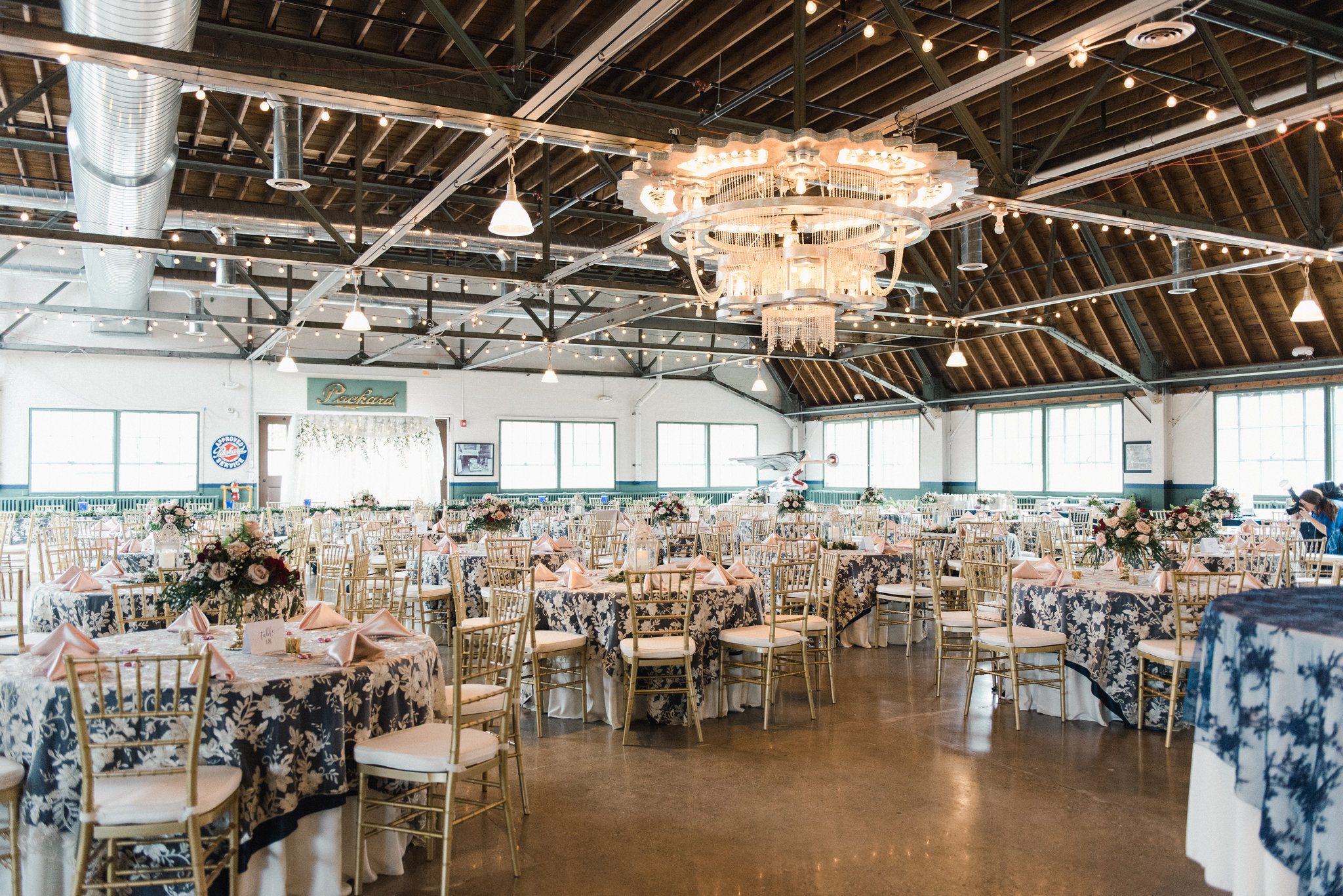 A Vintage-Inspired Packard Proving Grounds Michigan Wedding - The Overwhelmed Bride Wedding Blog