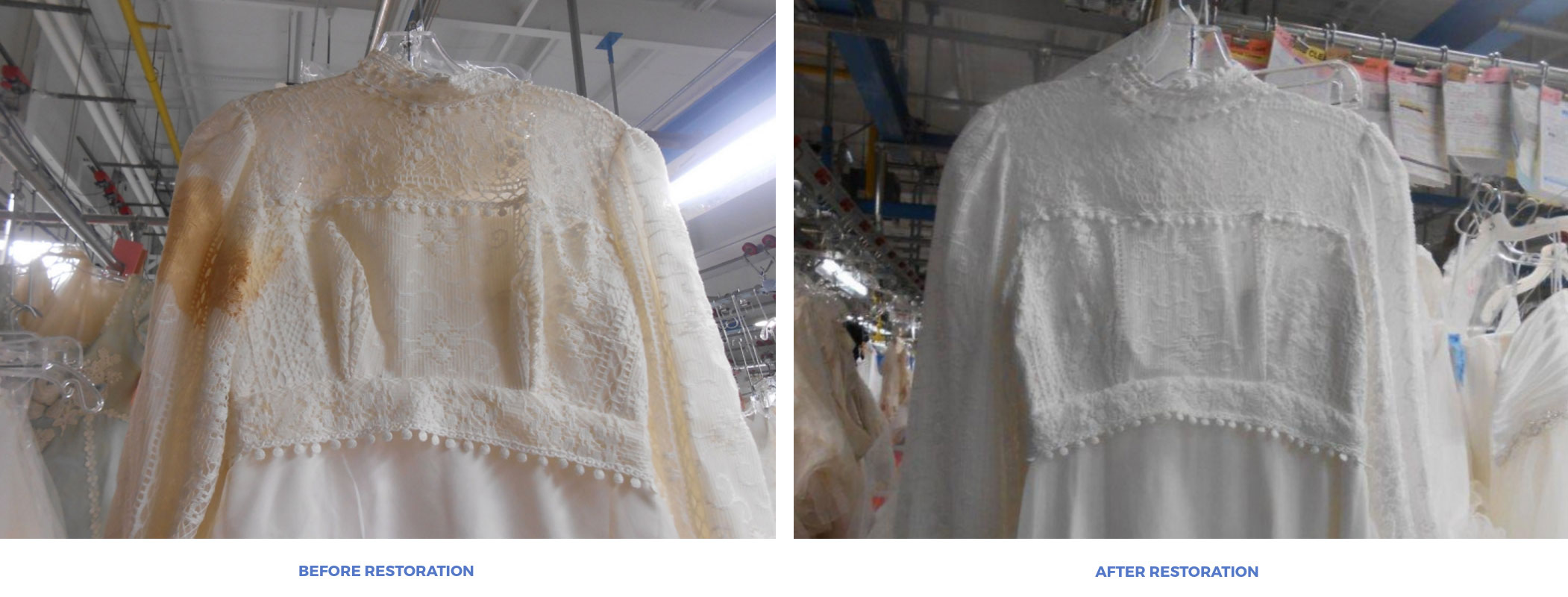 Affordable Wedding Dress Preservation + Cleaning Restoration - The Overwhelmed Bride Wedding Blog