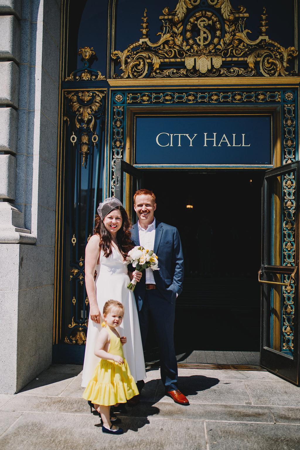 A San Francisco City Hall Wedding - The Overwhelmed Bride Wedding Ideas Inspiration Blog