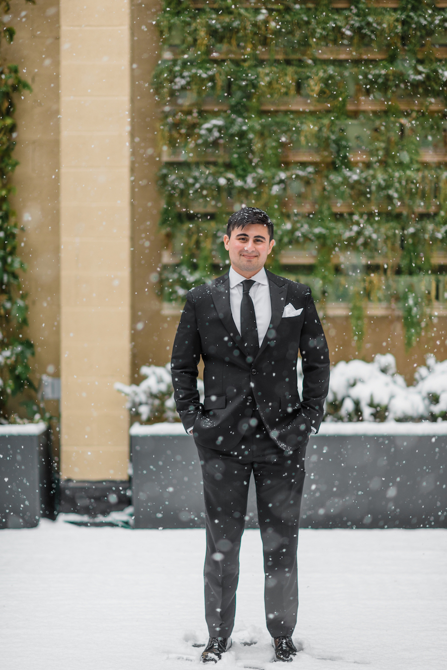 A Lancaster, Pennsylvania Snowy Winter Wedding - The Overwhelmed Bride Wedding Inspiration Ideas Blog
