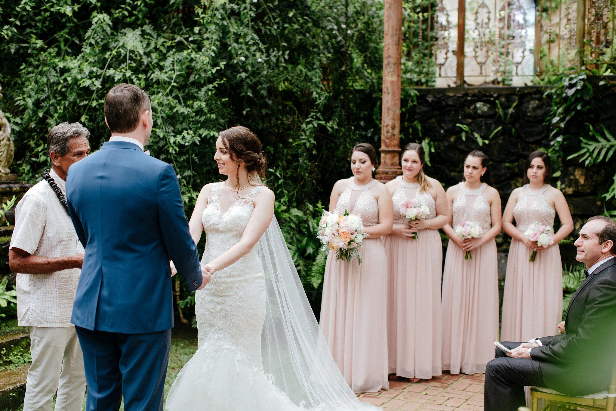 A Romantic Haiku Mill Maui Wedding - The Overwhelmed Bride Wedding Inspiration Ideas Blog