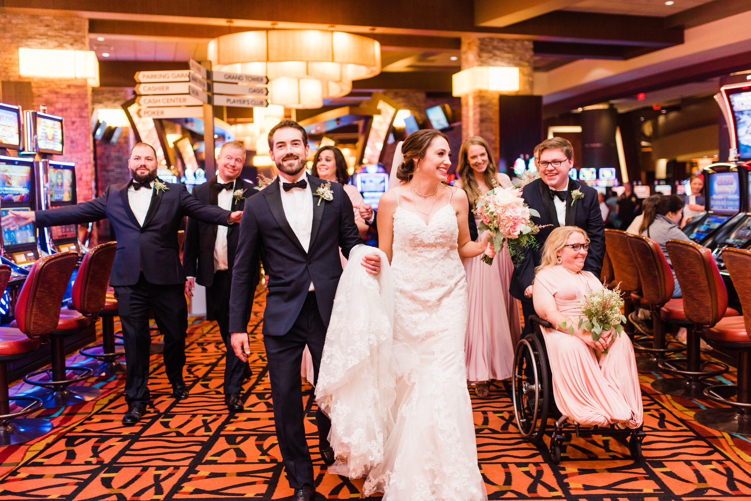 Choctaw Casino and Resorts Oklahoma Wedding - The Overwhelmed Bride Wedding Ideas Blog