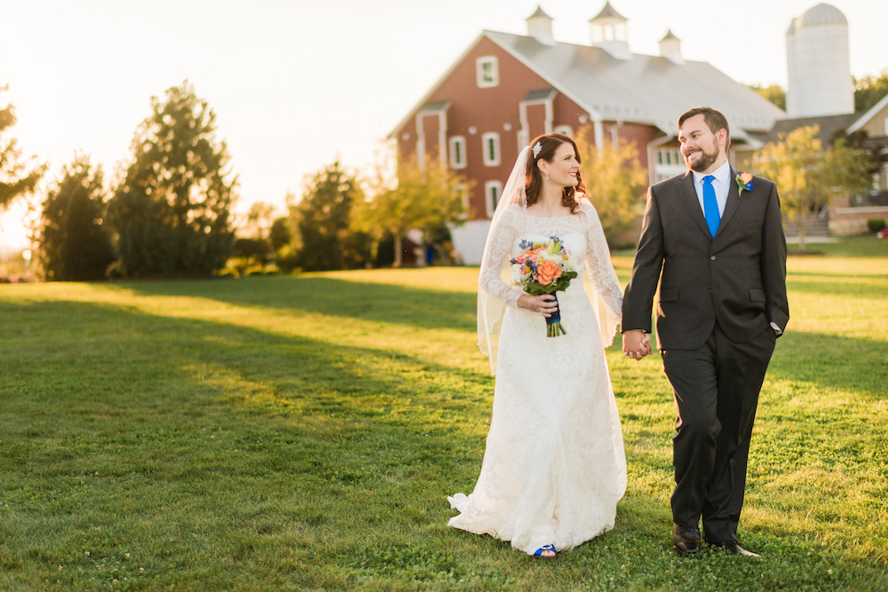 A Wyndridge Farm Fall Wedding - The Overwhelmed Bride Wedding Ideas Blog