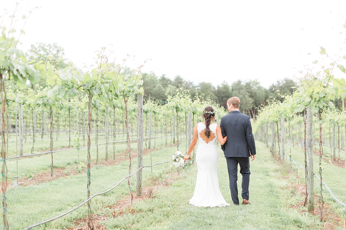 A Winery at Bull Run Wedding - The Overwhelmed Bride Wedding Ideas Blog