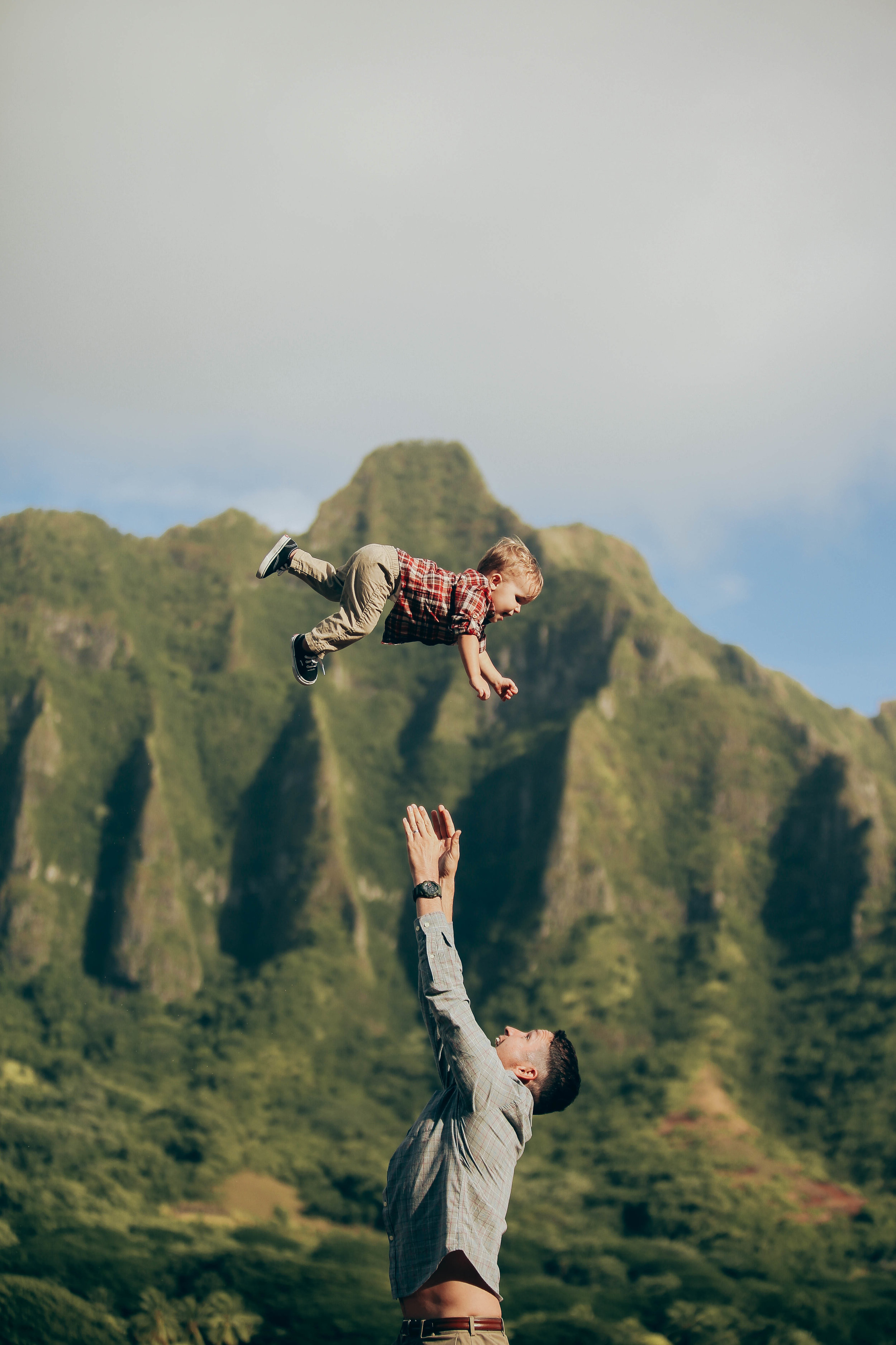 Tyner Family - Secret Island, Oahu, HI.