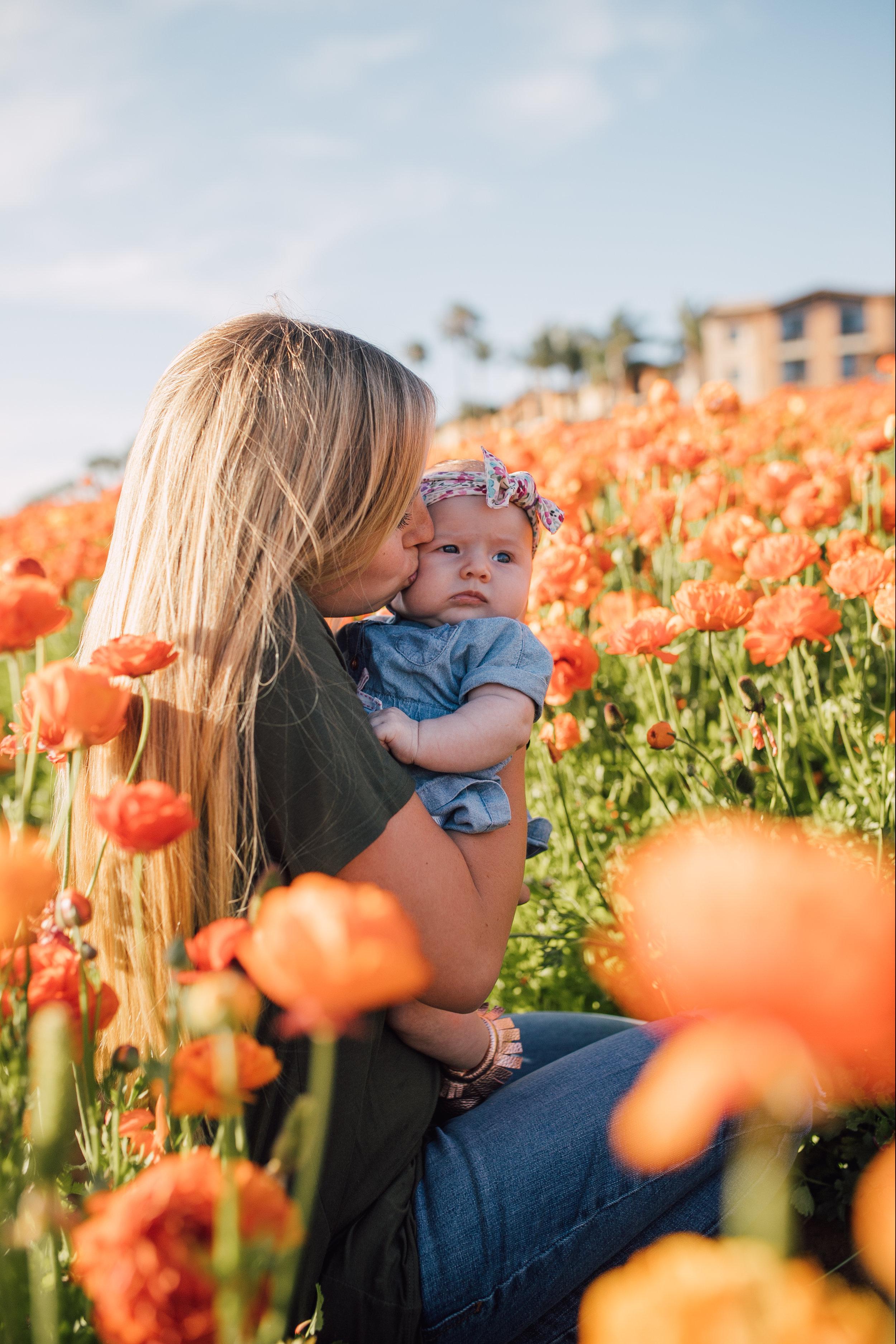 Winchell Family - Flower Fields, Carlsbad, CA.