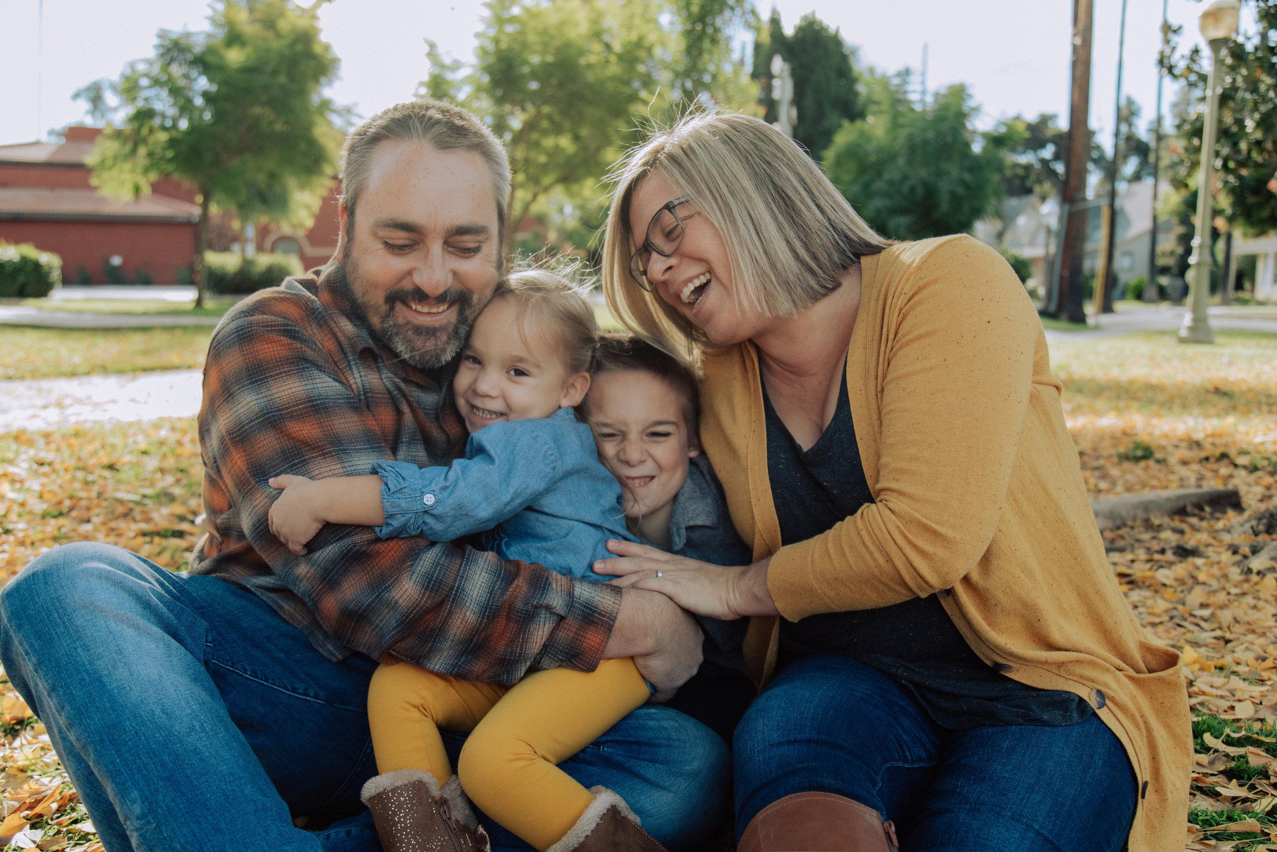 Baker Family - Downtown Redlands, CA.