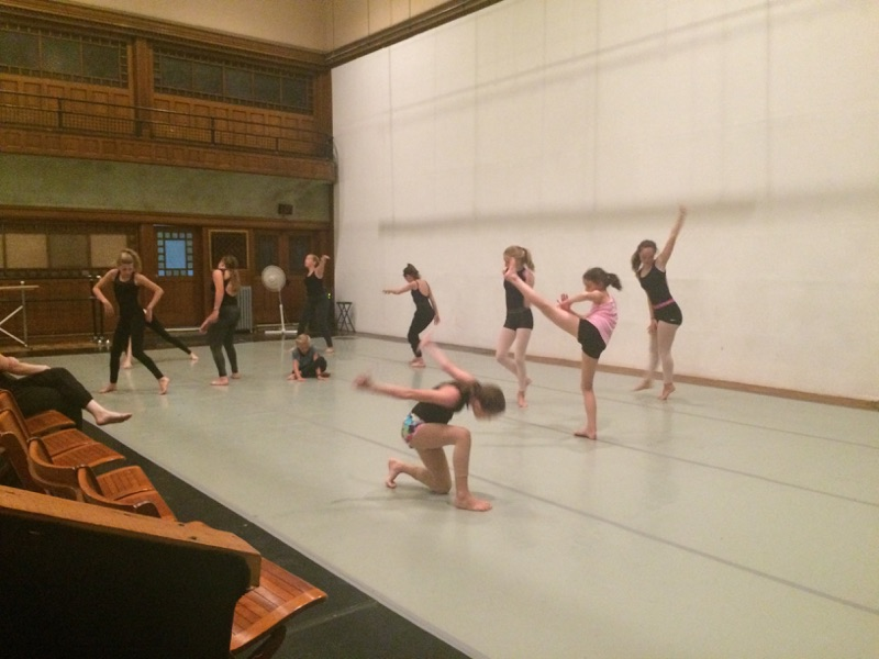 Track 1 students in my improvisation class.