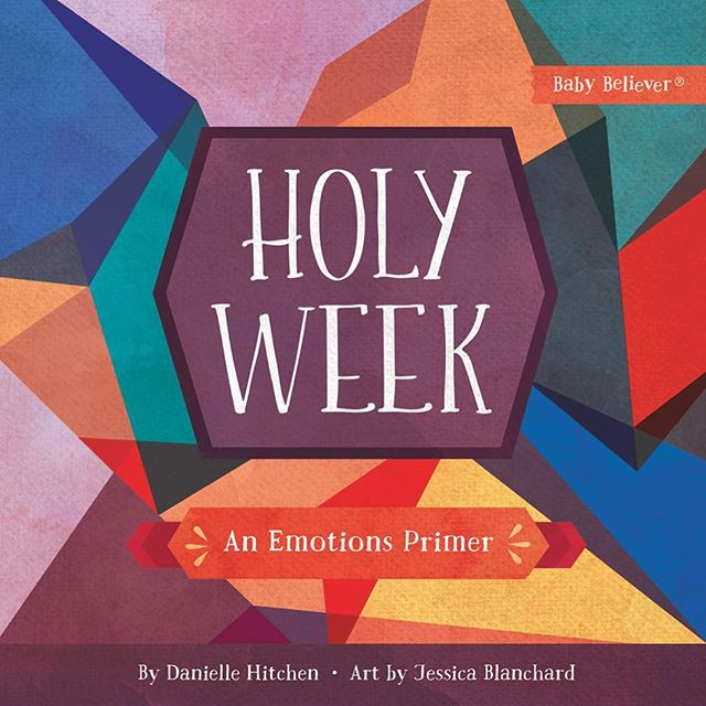 Hi friends! It's been awhile since I posted and I can't believe I haven't shared our latest release! Our FIFTH BOOK (!!) Holy Week: An Emotions Primer has officially been out for about 3 weeks and we're so excited! The book walks through the events of Holy week, using emotions as the theme. It's a great one even for older kids. I'm looking forward to using it during Lent with my kids. We hope you enjoy it and that it helps your family dwell on the infinite graciousness of Christ's sacrifice for us.