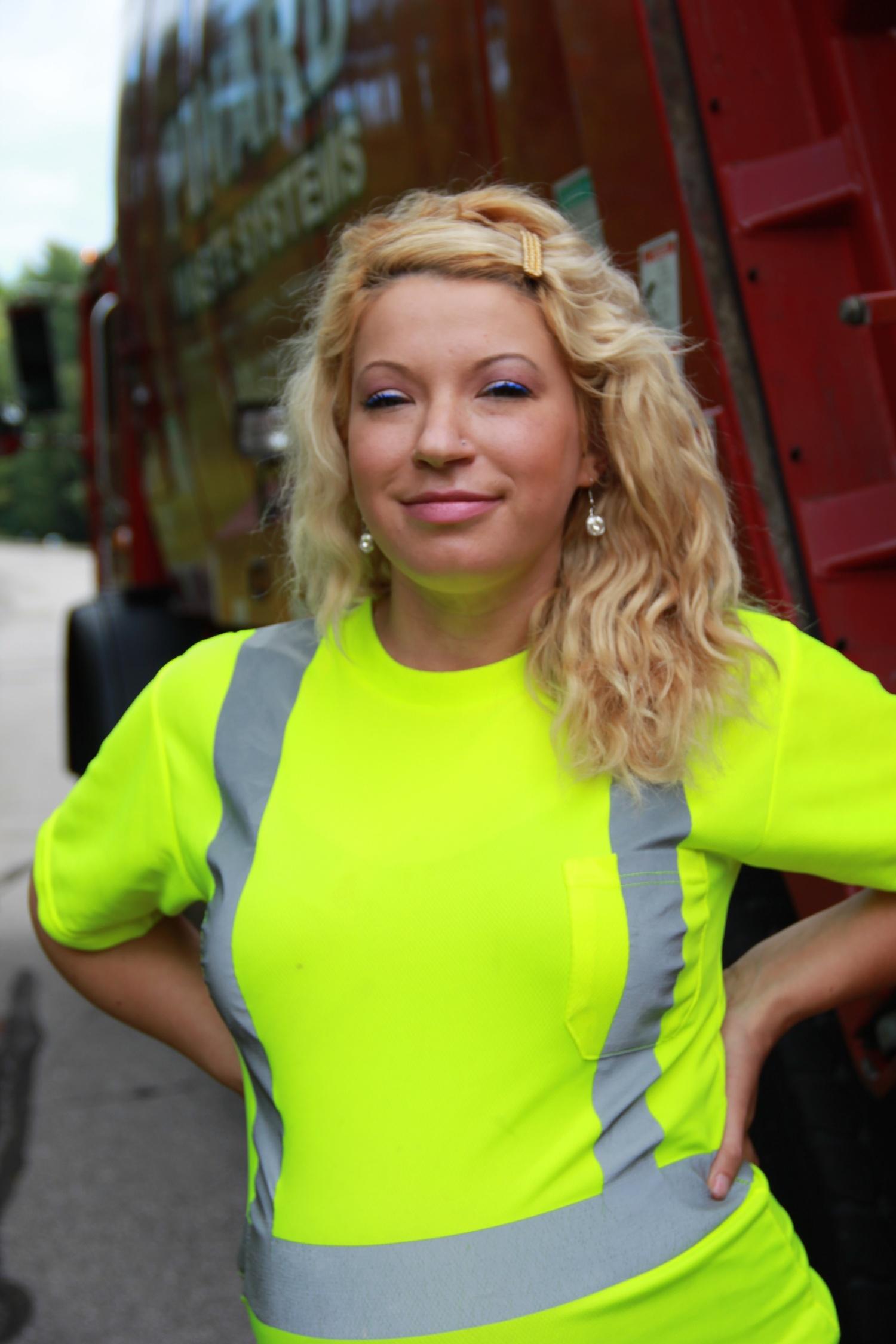 Taylor Barry, Pinard Waste Management Truck Driver.jpg