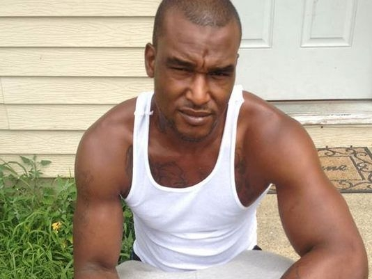 Phillip White, 32, before being killed by Vineland, NJ, police
