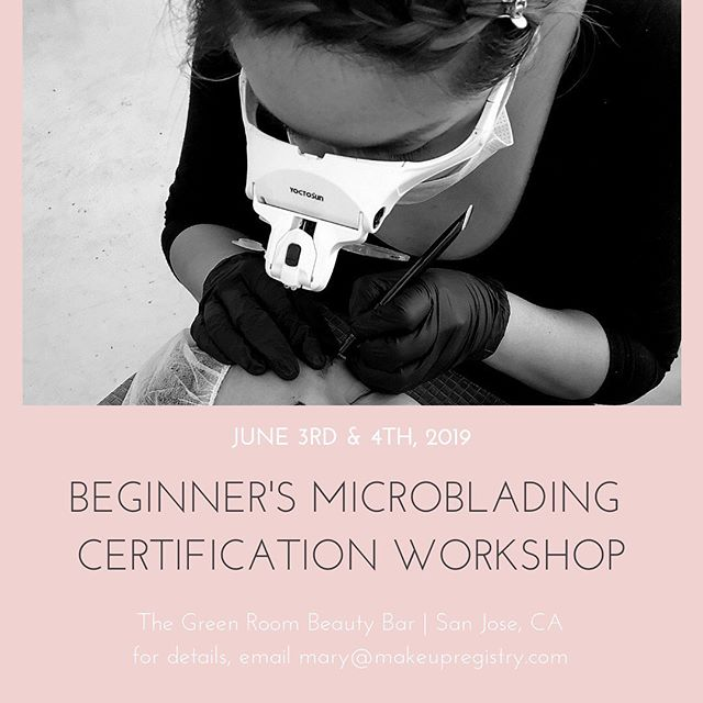 💵 Learn the skills to pay the bills 💵 We are now enrolling for our Microblading Summer Session training ✍🏼 Get Certified through our 2-day training course and receive free access to the online course to continue your study 📚 Spaces are limited, DM us for more info 🤗