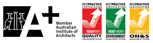 Member of the Australian Institute of Architects