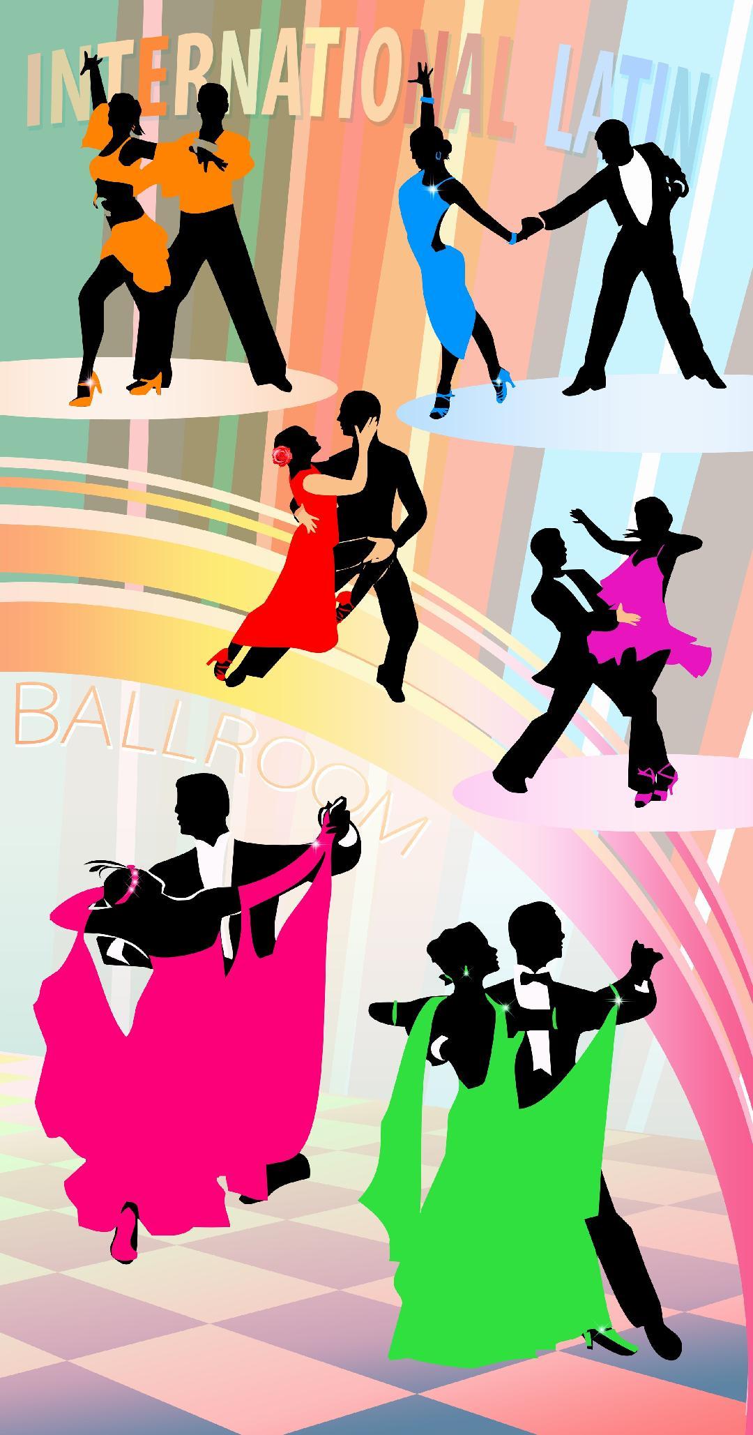 LATIN BALLROOM DANCE - TUESDAYS & THURSDAYSAGE: 4 & UP 6:15PM - 7:15PM
