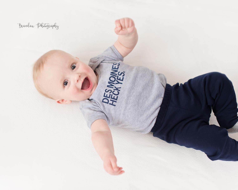 baby boy laughing Des Moines Raygun _Brandau Photography.jpg